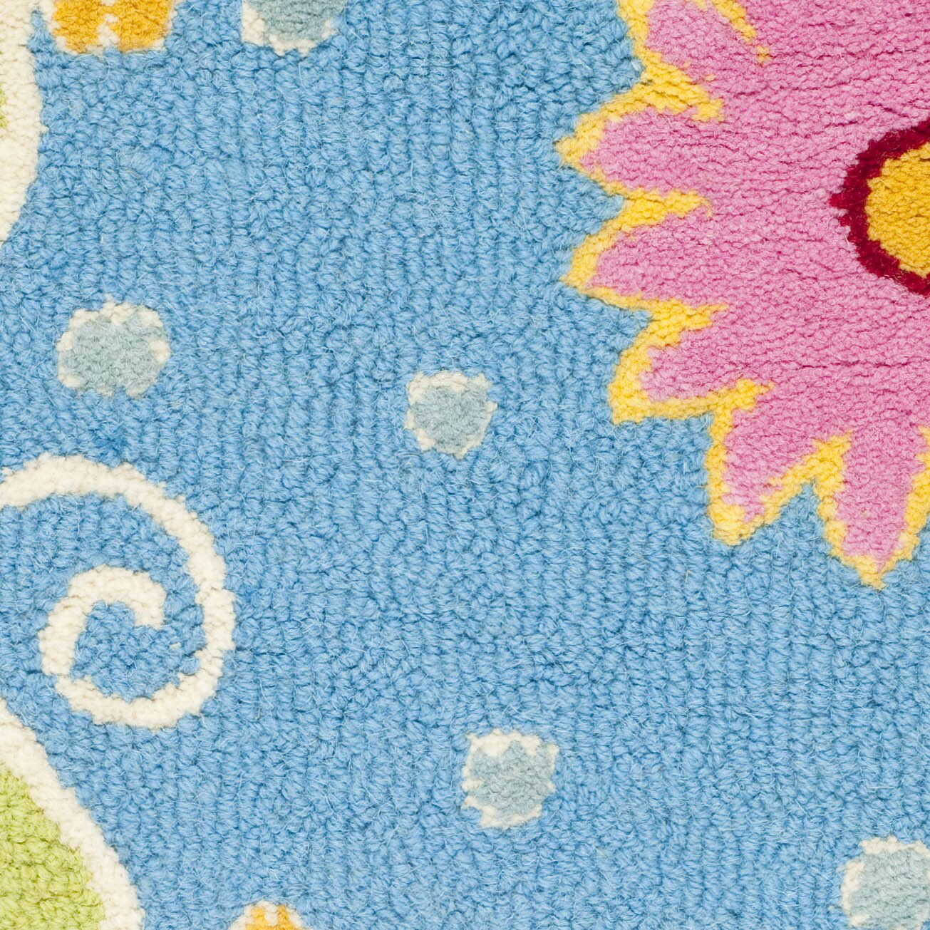 Safavieh Safavieh Kids Blue Green Floral Area Rug