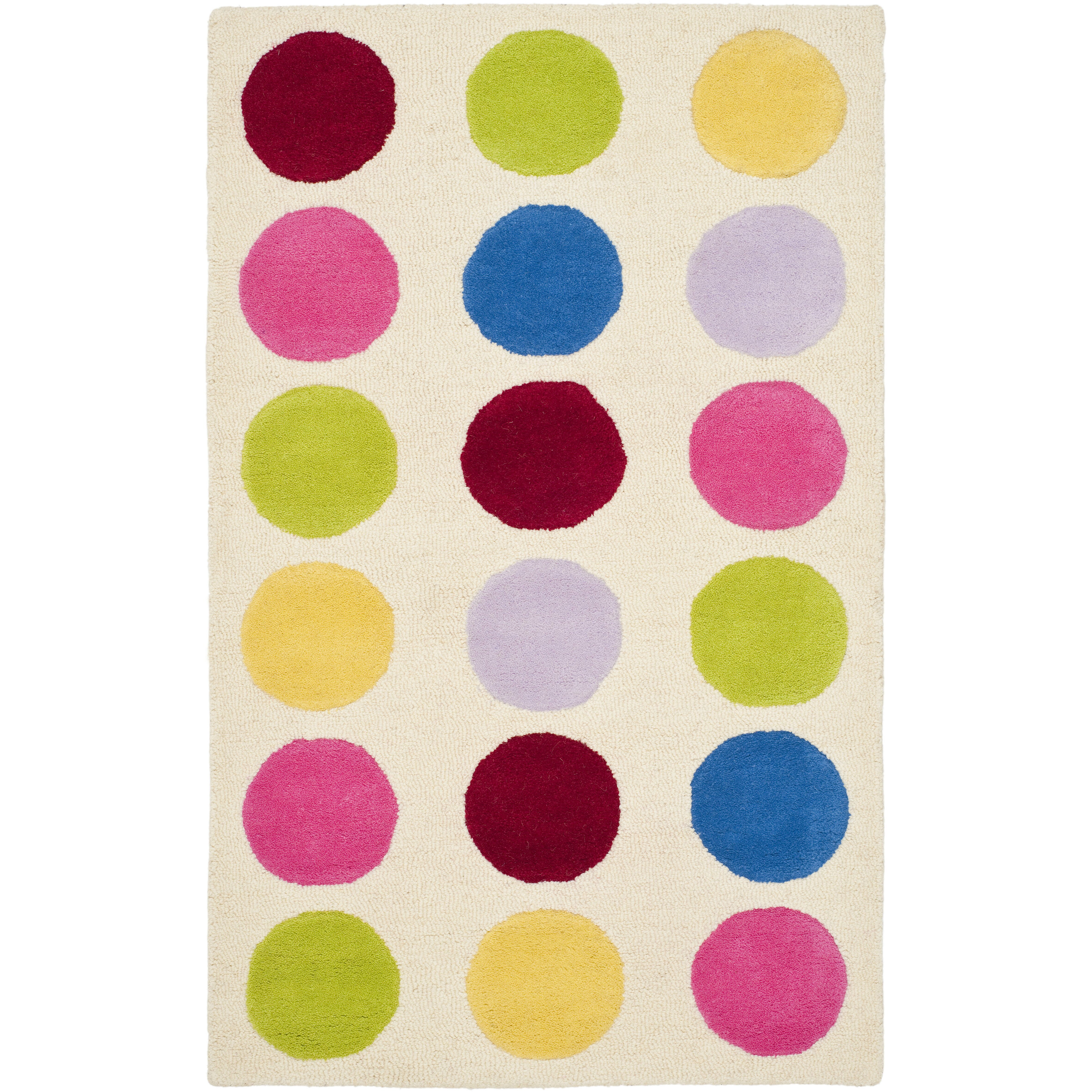 safavieh polka dot area rug cheerful home office rug wayfair safavieh