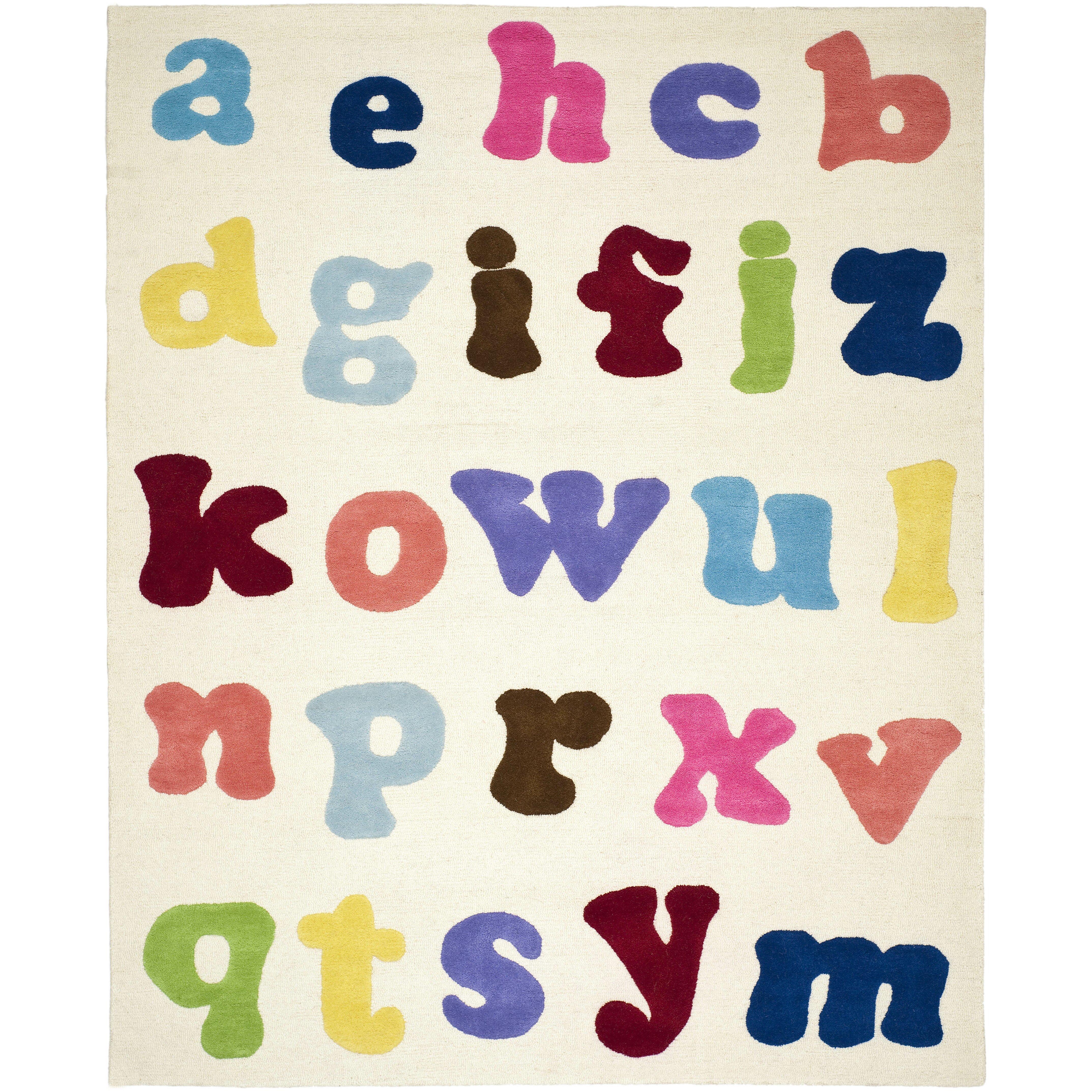 Safavieh Alphabet Area Rug & Reviews