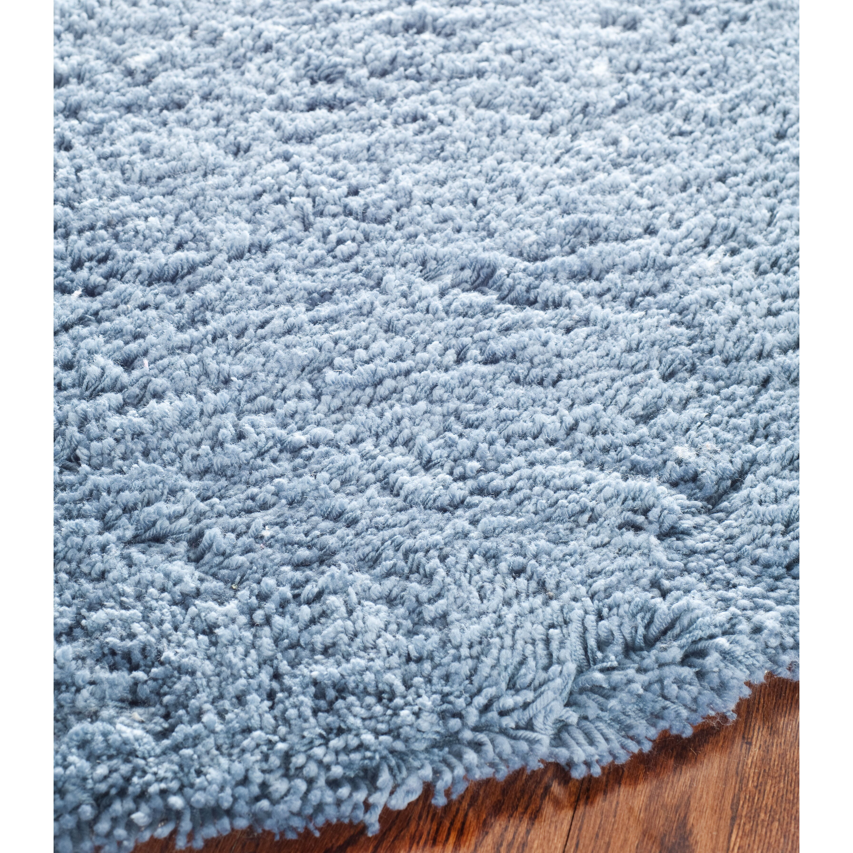 blue shag rug safavieh shag light blue area rug amp reviews wayfair 11071