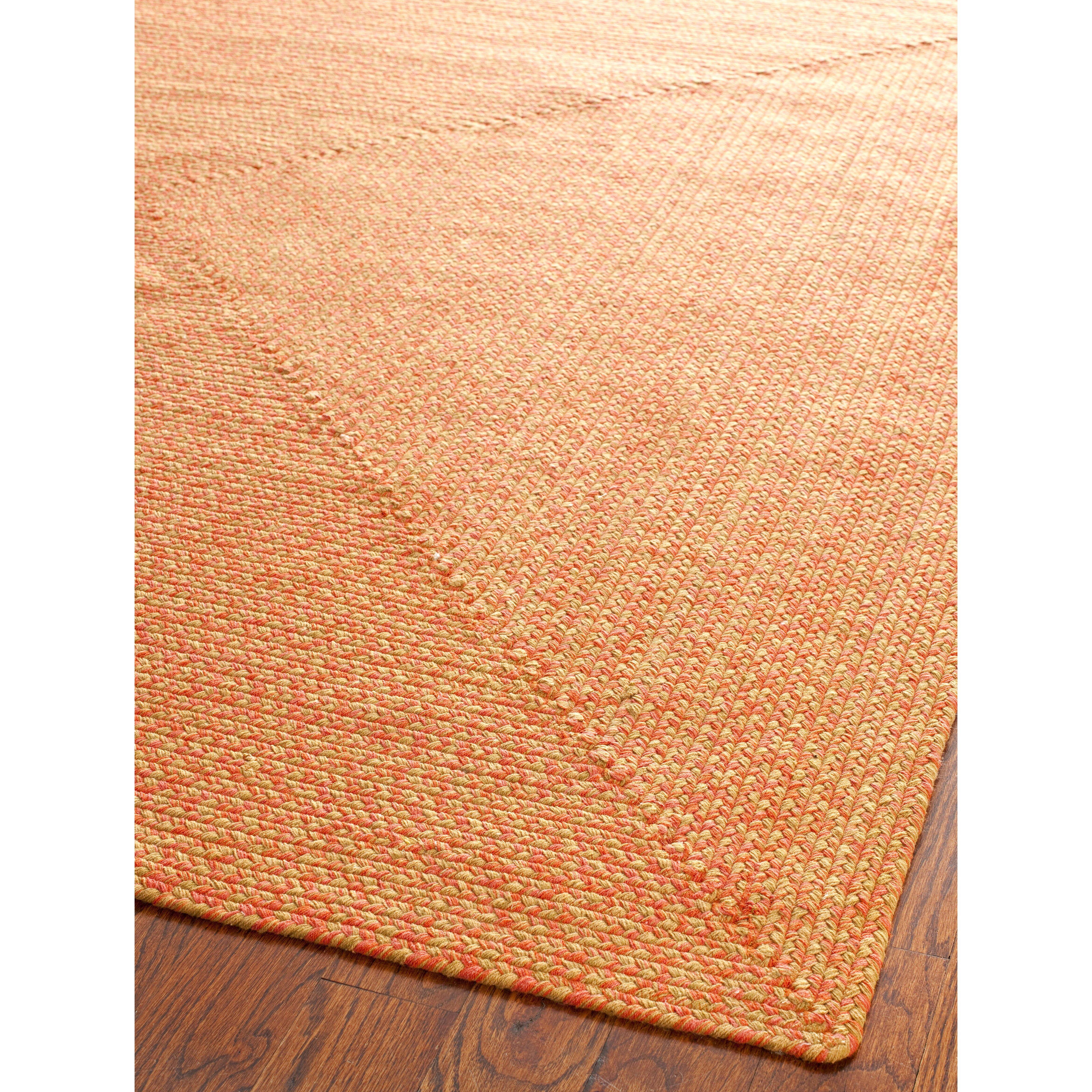 Safavieh braided beige multi area rug reviews wayfair for Safavieh rugs