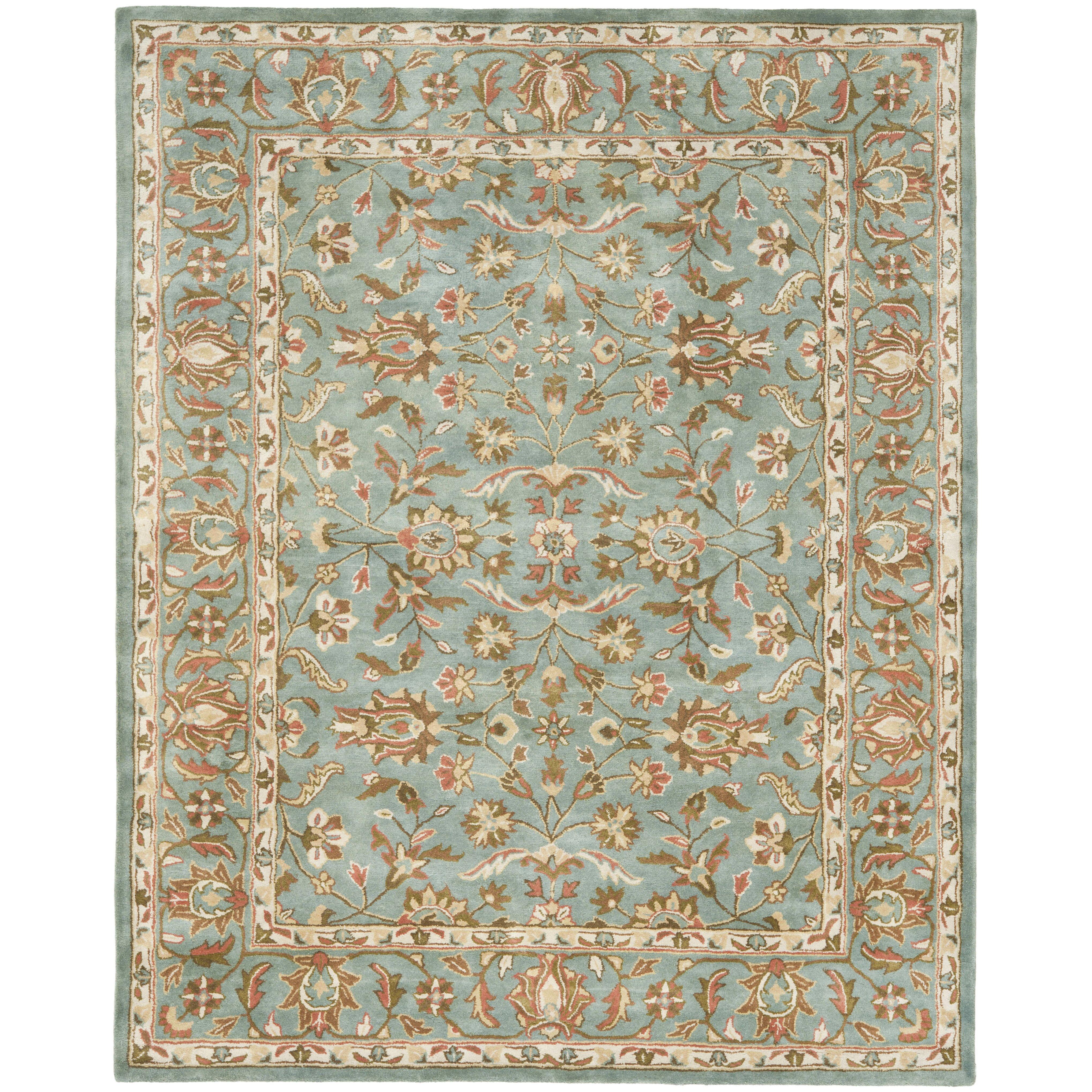 Safavieh heritage blue area rug reviews wayfair for Safavieh rugs