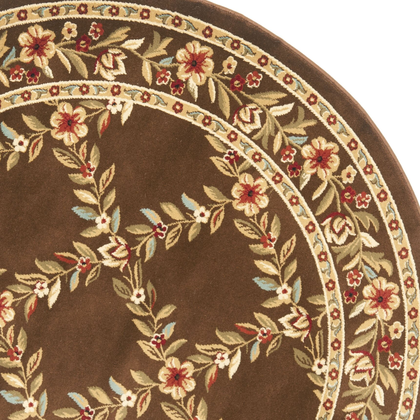 Checked Area Rugs: Safavieh Lyndhurst Brown Checked Area Rug & Reviews