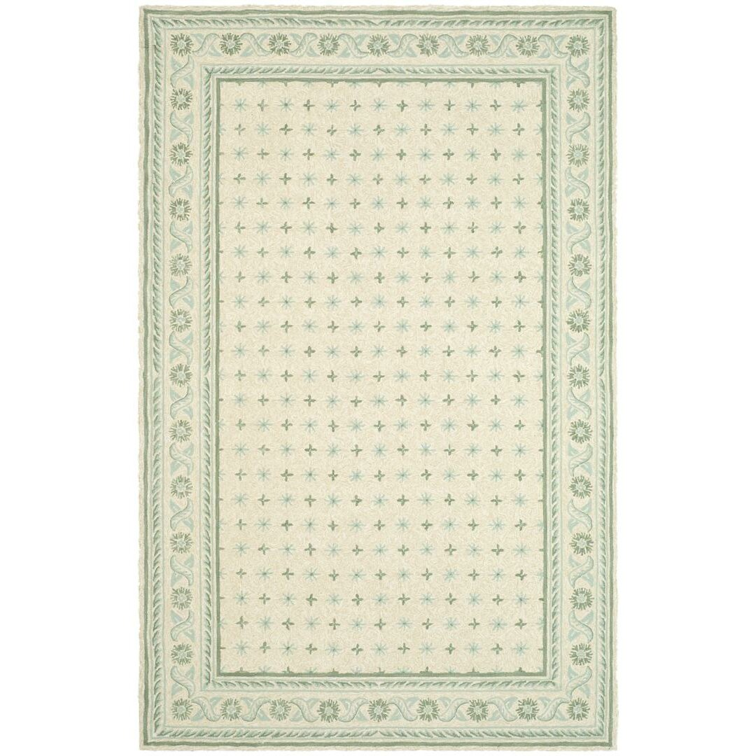 Safavieh Wilton Beige Light Green Area Rug Wayfair
