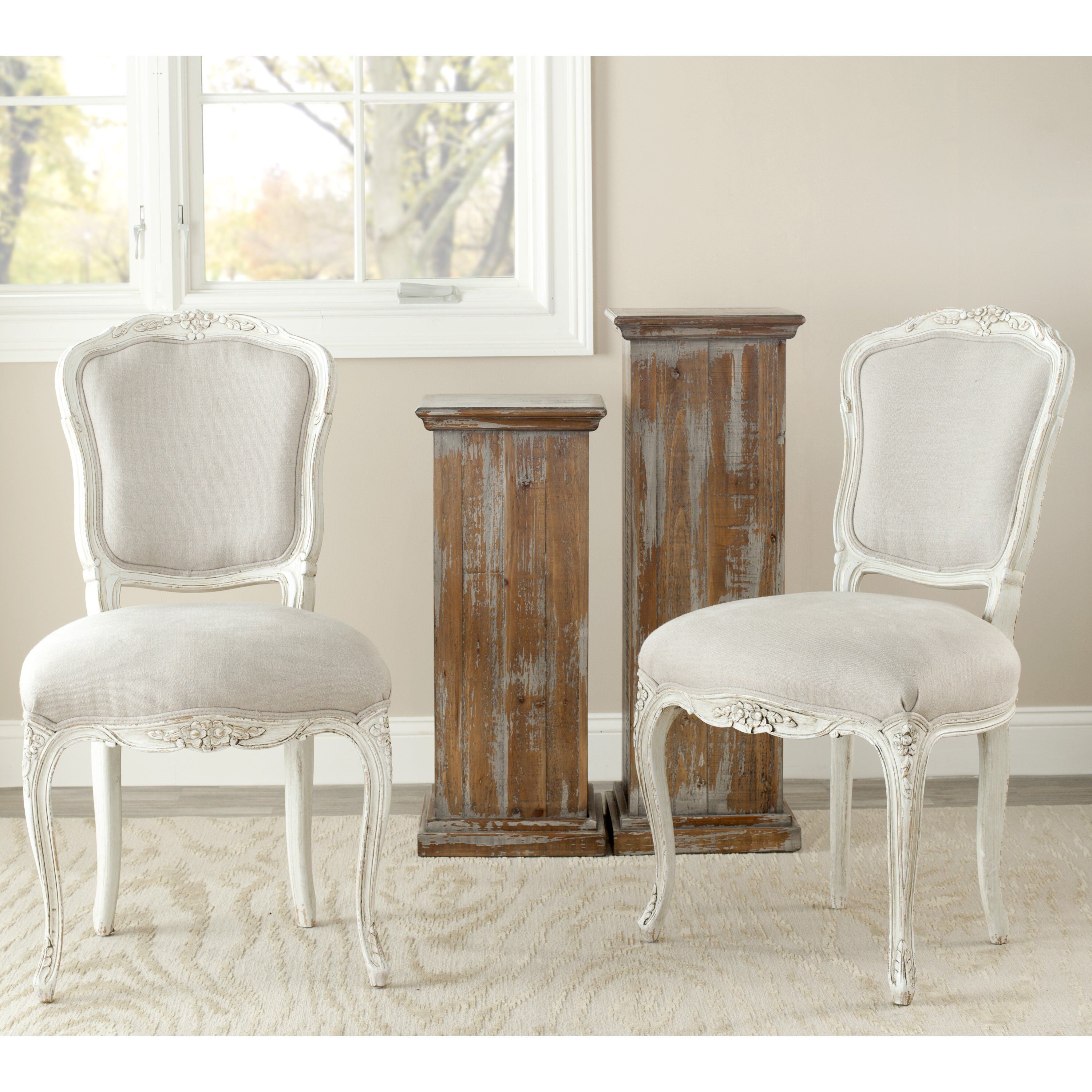 safavieh yaretzi side chair reviews wayfair. Black Bedroom Furniture Sets. Home Design Ideas
