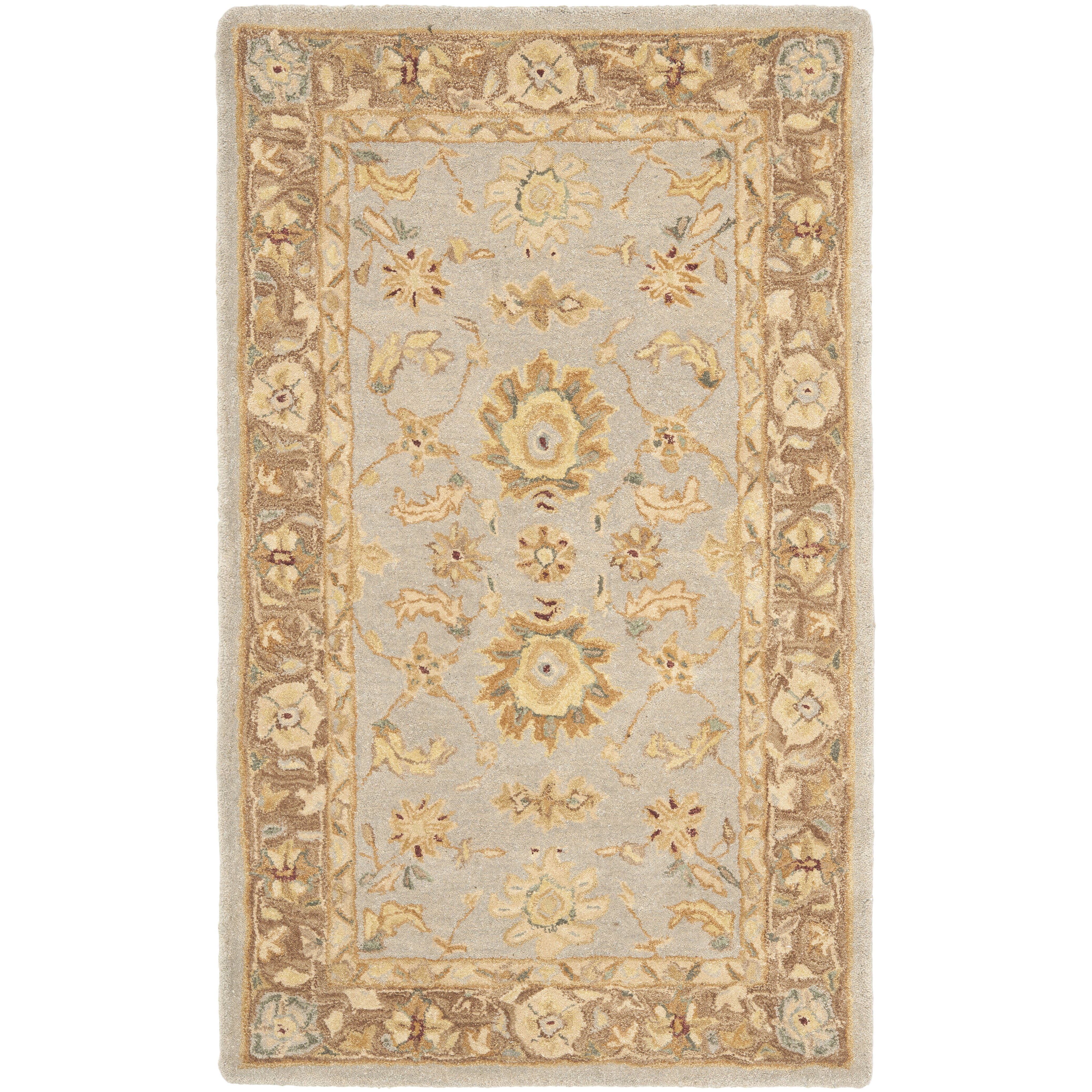 Safavieh Anatolia Teal/Brown Area Rug & Reviews