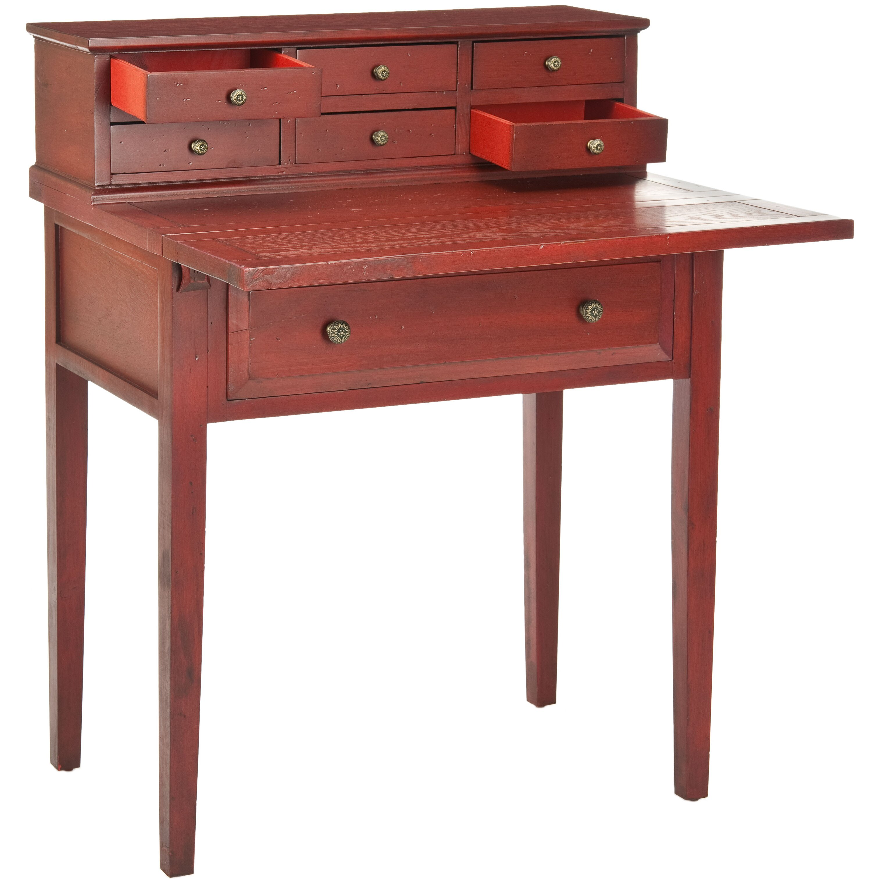 Safavieh Abigail Secretary Desk Amp Reviews Wayfair