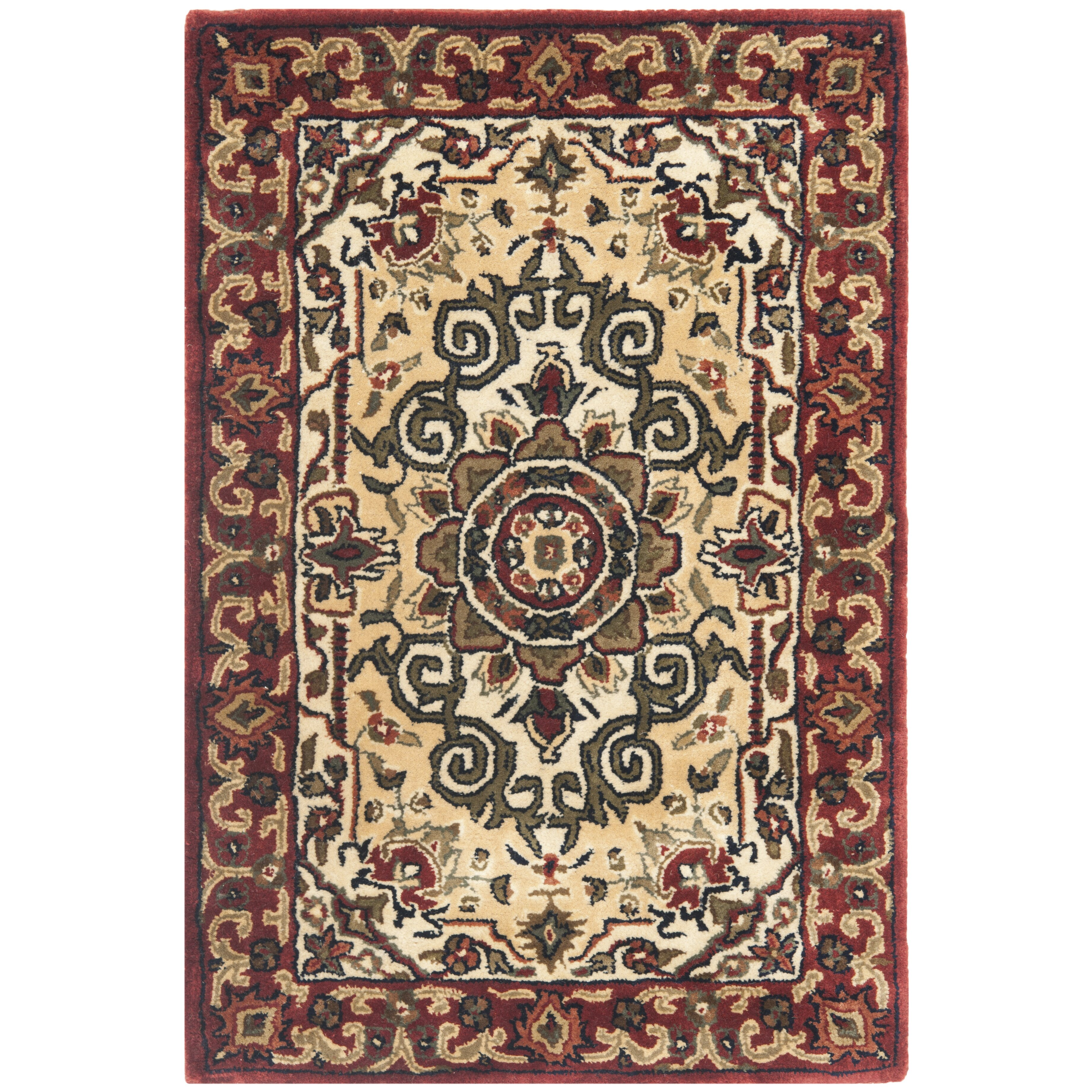 Safavieh Persian Legend Ivory/Red Area Rug & Reviews