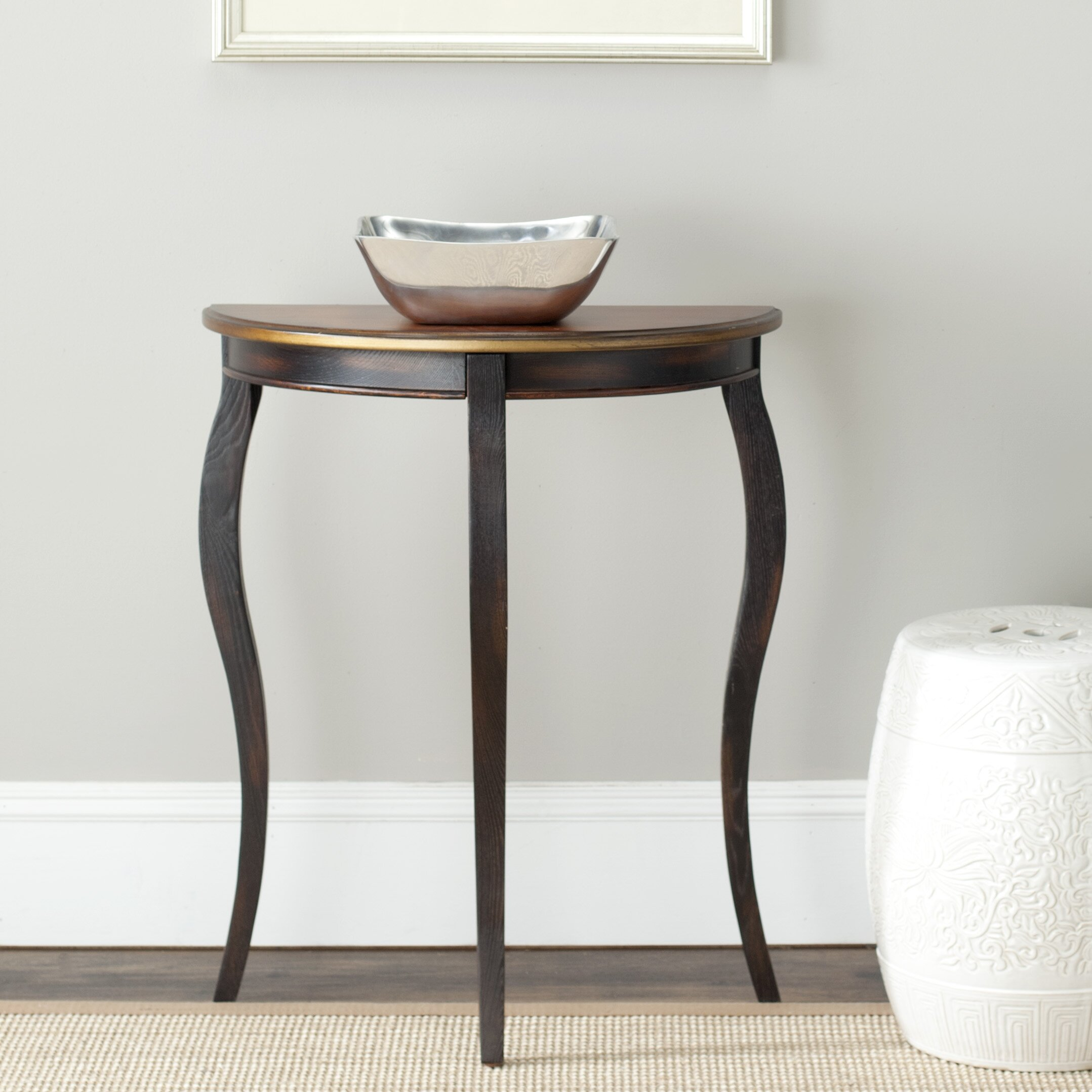 Safavieh Ava French Demilune End Table Reviews Wayfair
