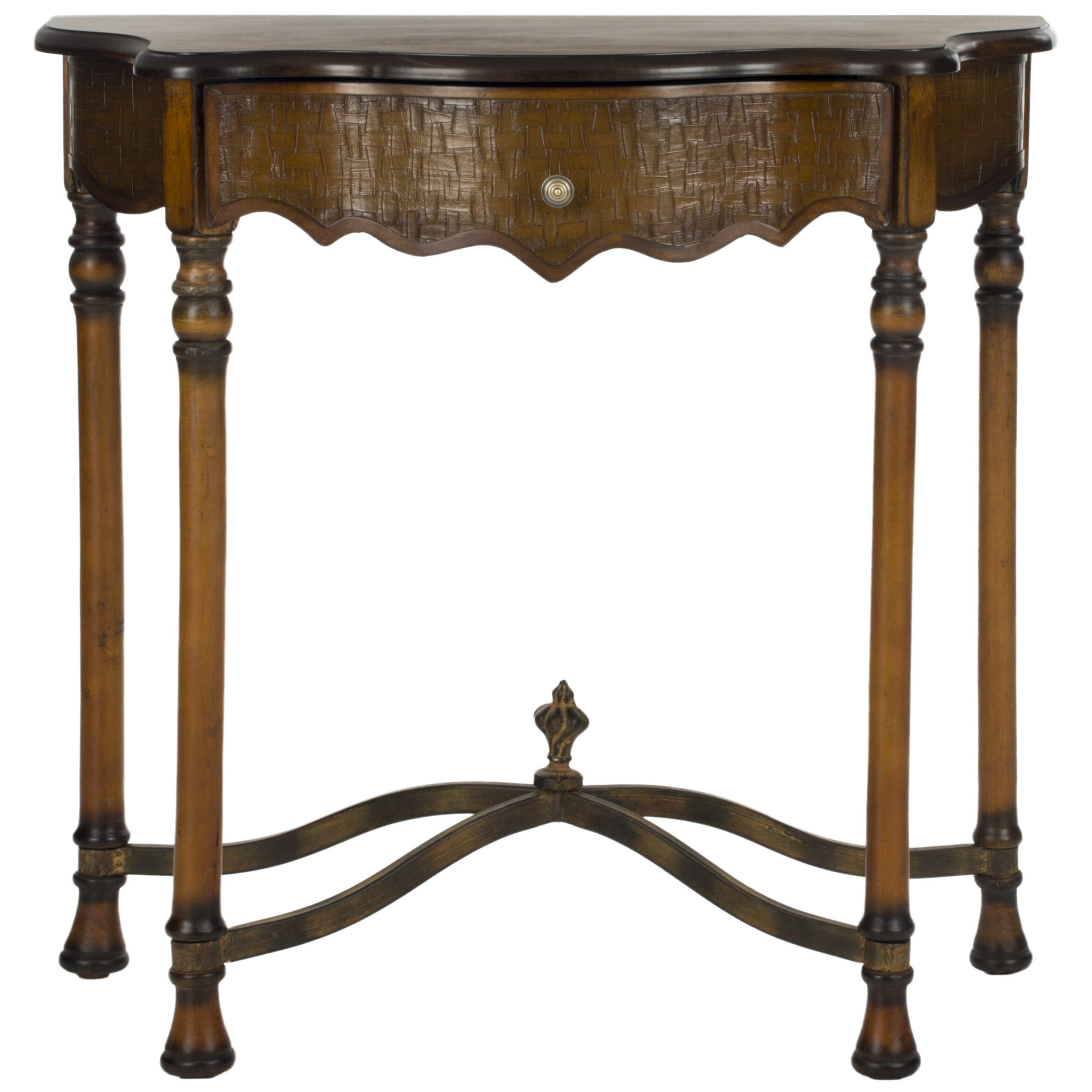 safavieh helen console table reviews. Black Bedroom Furniture Sets. Home Design Ideas