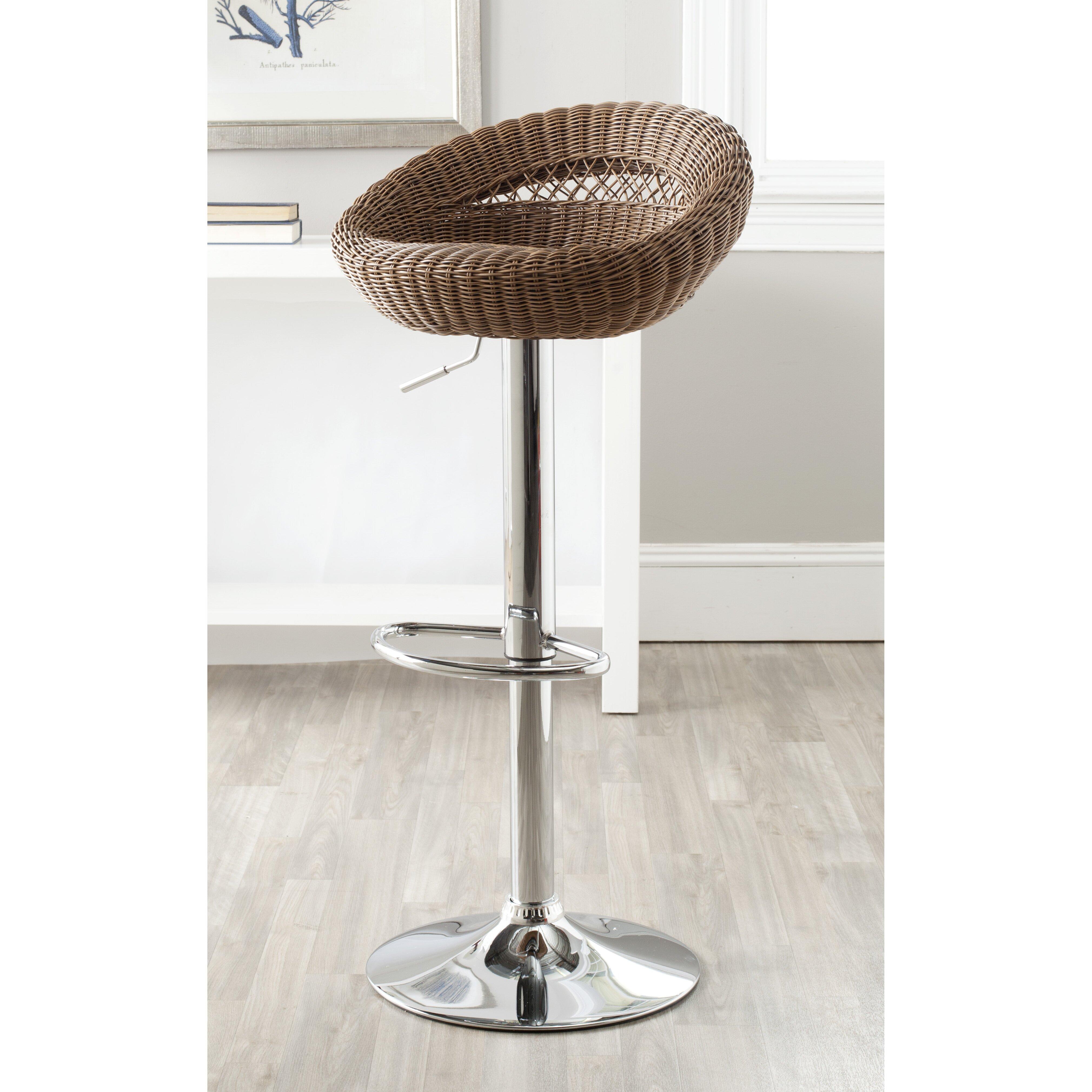 safavieh adjustable height swivel bar stool reviews. Black Bedroom Furniture Sets. Home Design Ideas