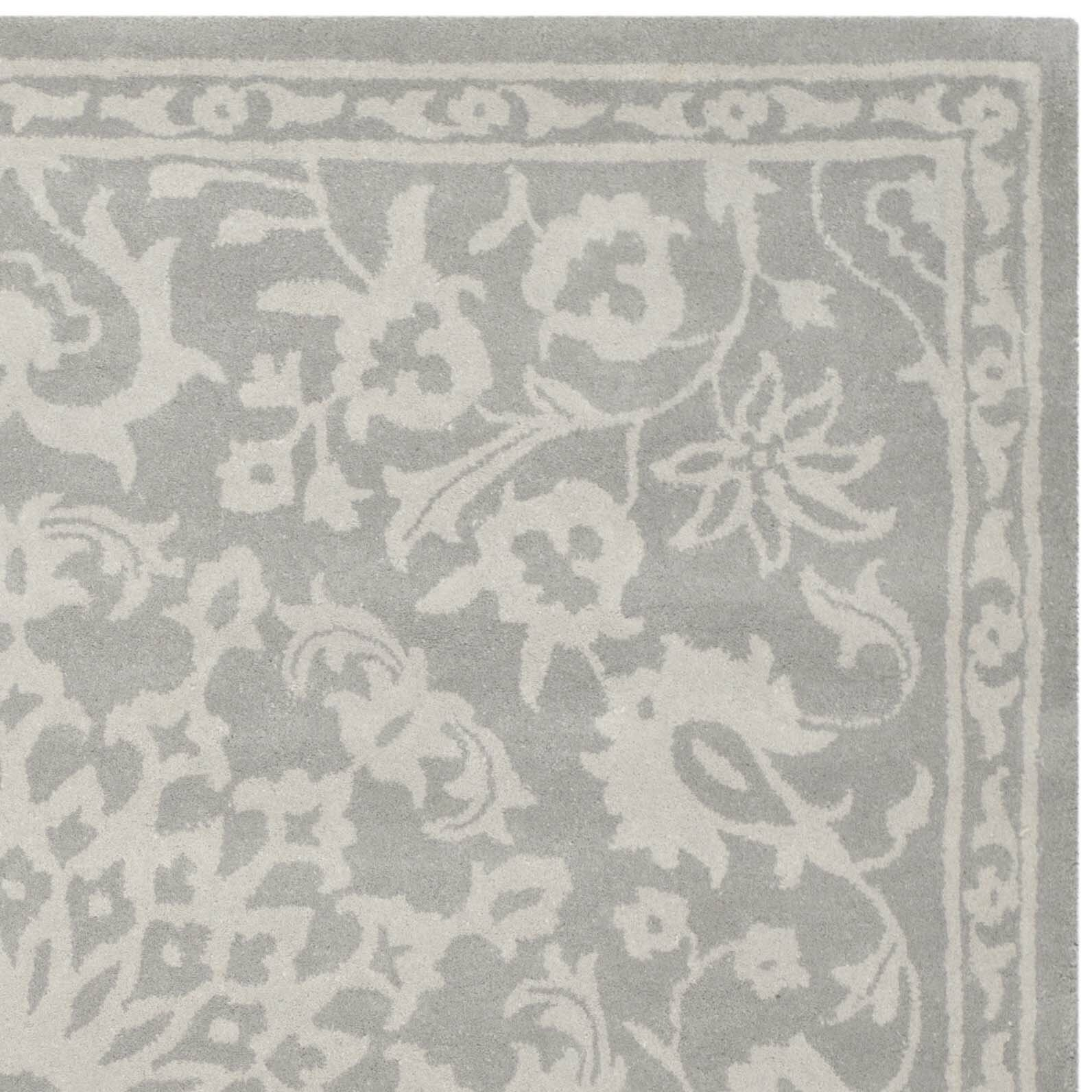 Safavieh Bella Grey Silver Area Rug Amp Reviews Wayfair