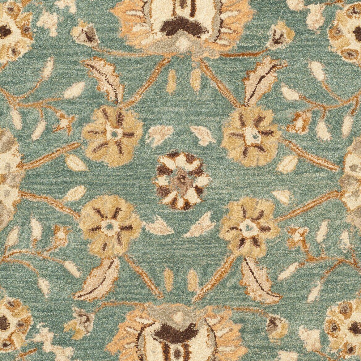 Safavieh Anatolia Teal/Camel Area Rug & Reviews