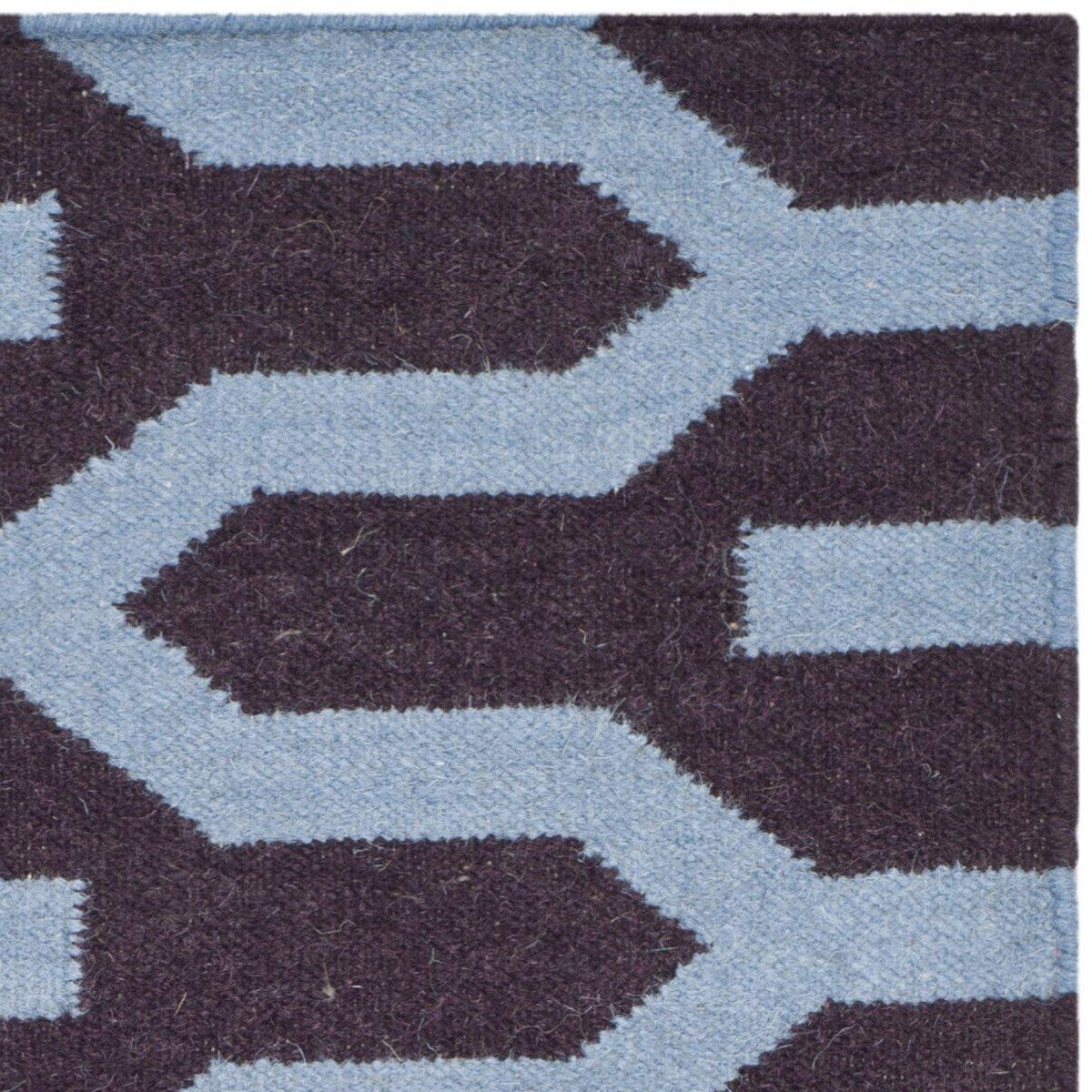 Safavieh Dhurries Purple Blue Area Rug Wayfair