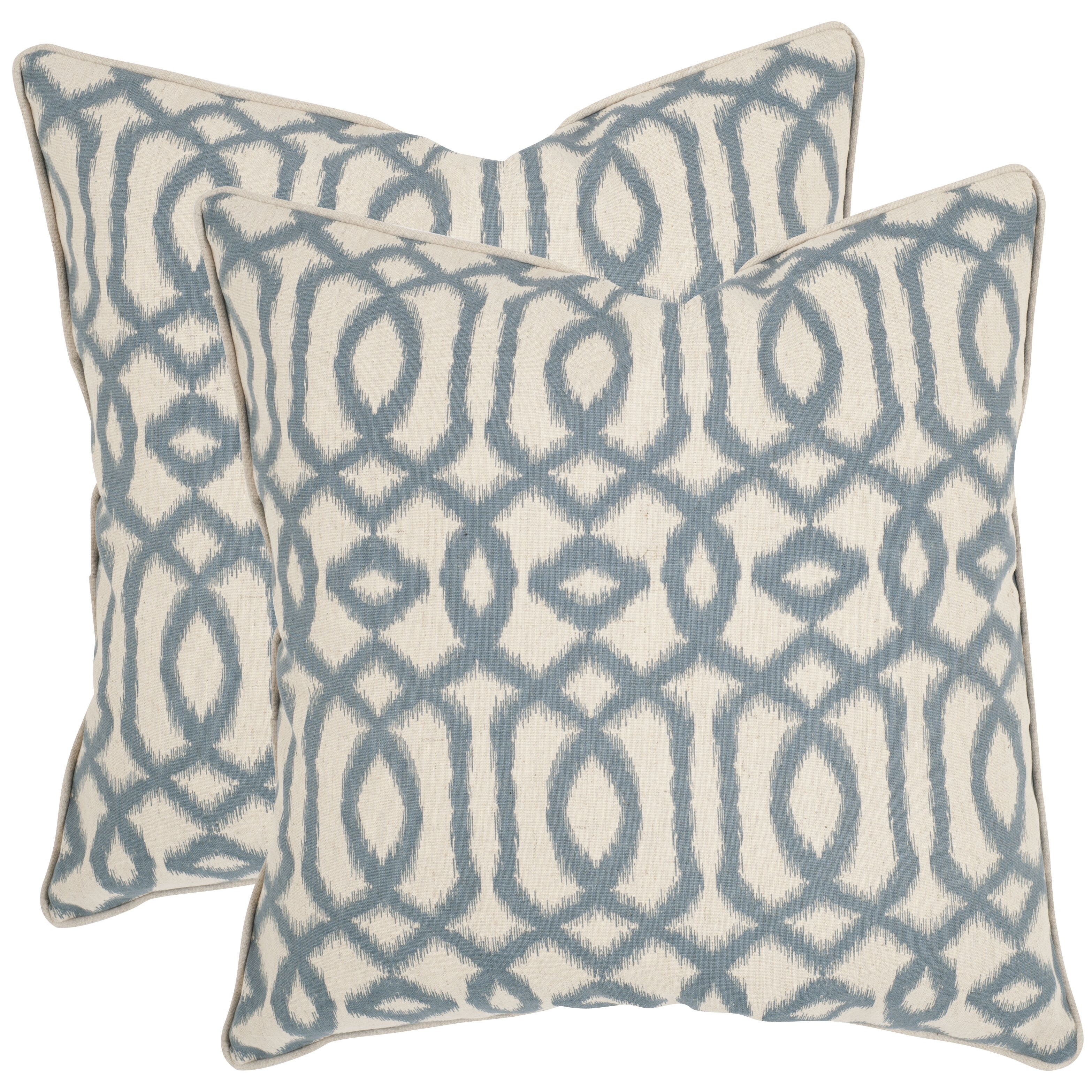 Throw Blanket And Decorative Pillow Set : Safavieh Blake Throw Pillow & Reviews Wayfair