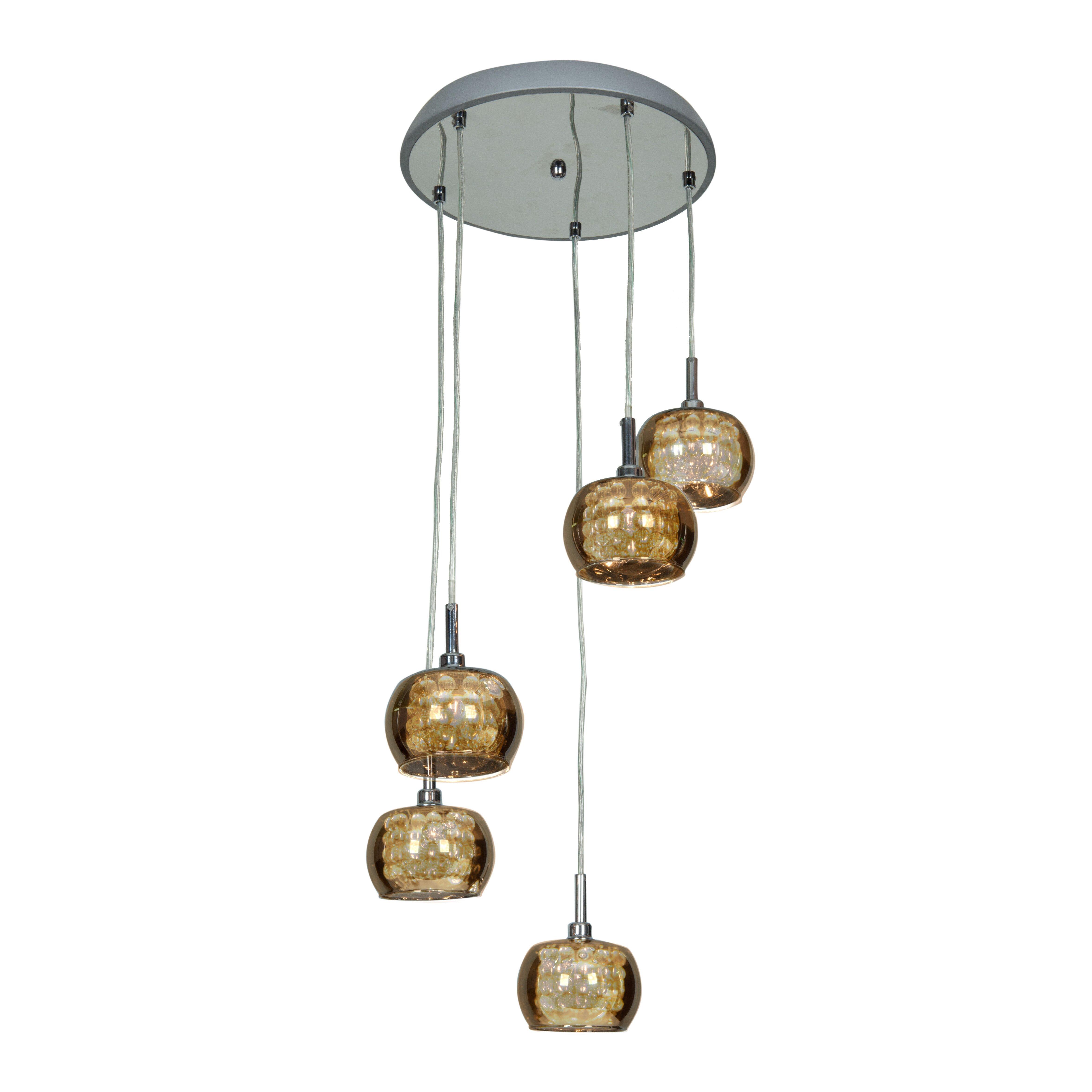 Light pendants two light shade brass e27 pendant access lighting glam 5 light pendant wayfair light pendants aloadofball Choice Image