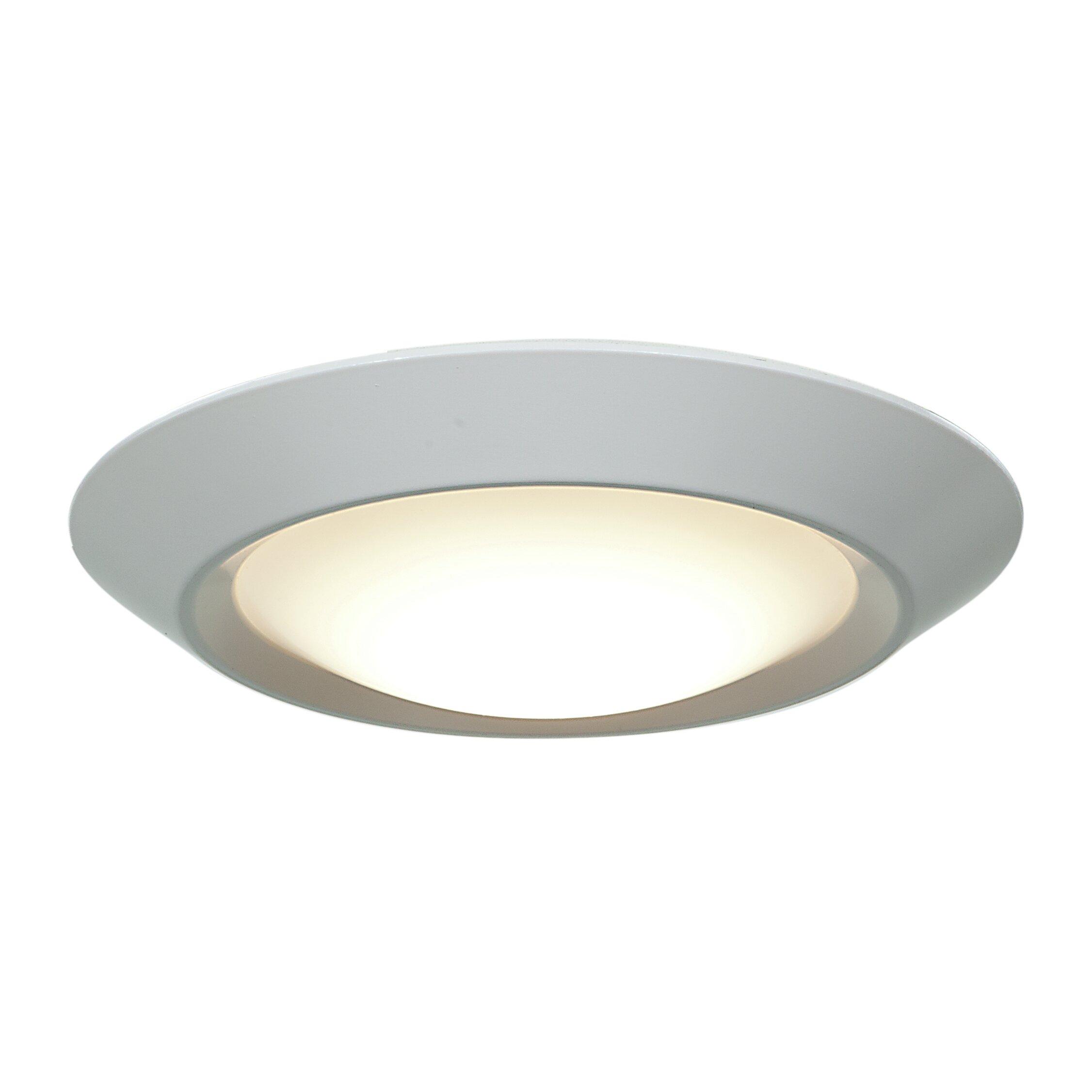 Flush Mount Lighting Over Kitchen Table