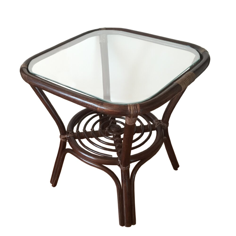 RattanWickerHomeFurniture Helena Rattan Coffee Table