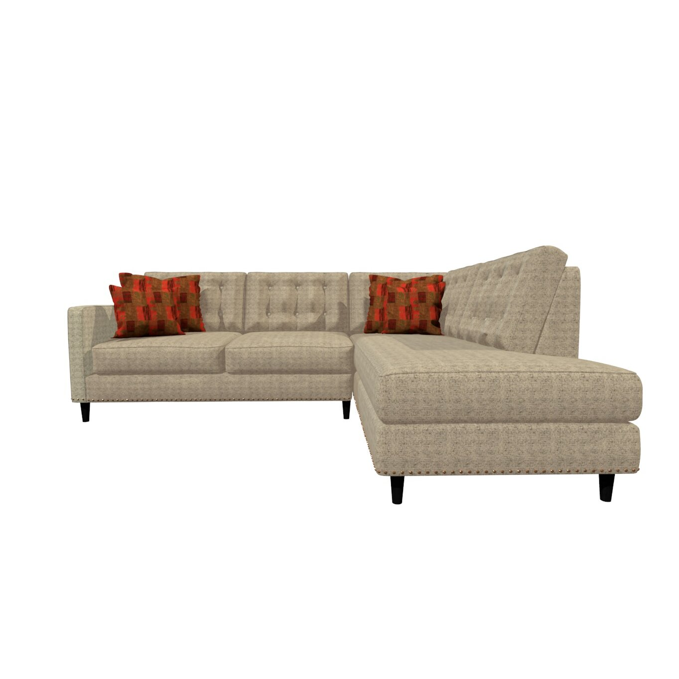 Gardenasofa Orlando Sectional Wayfair