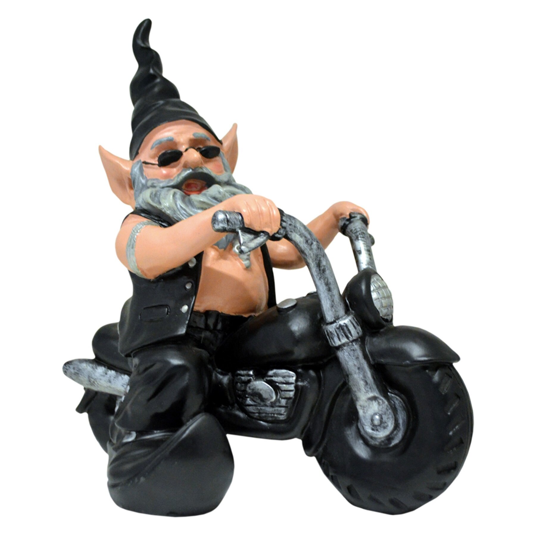 Homestyles Homestyles Nowaday Gnomes Born To Ride Quot Biker The Gnome