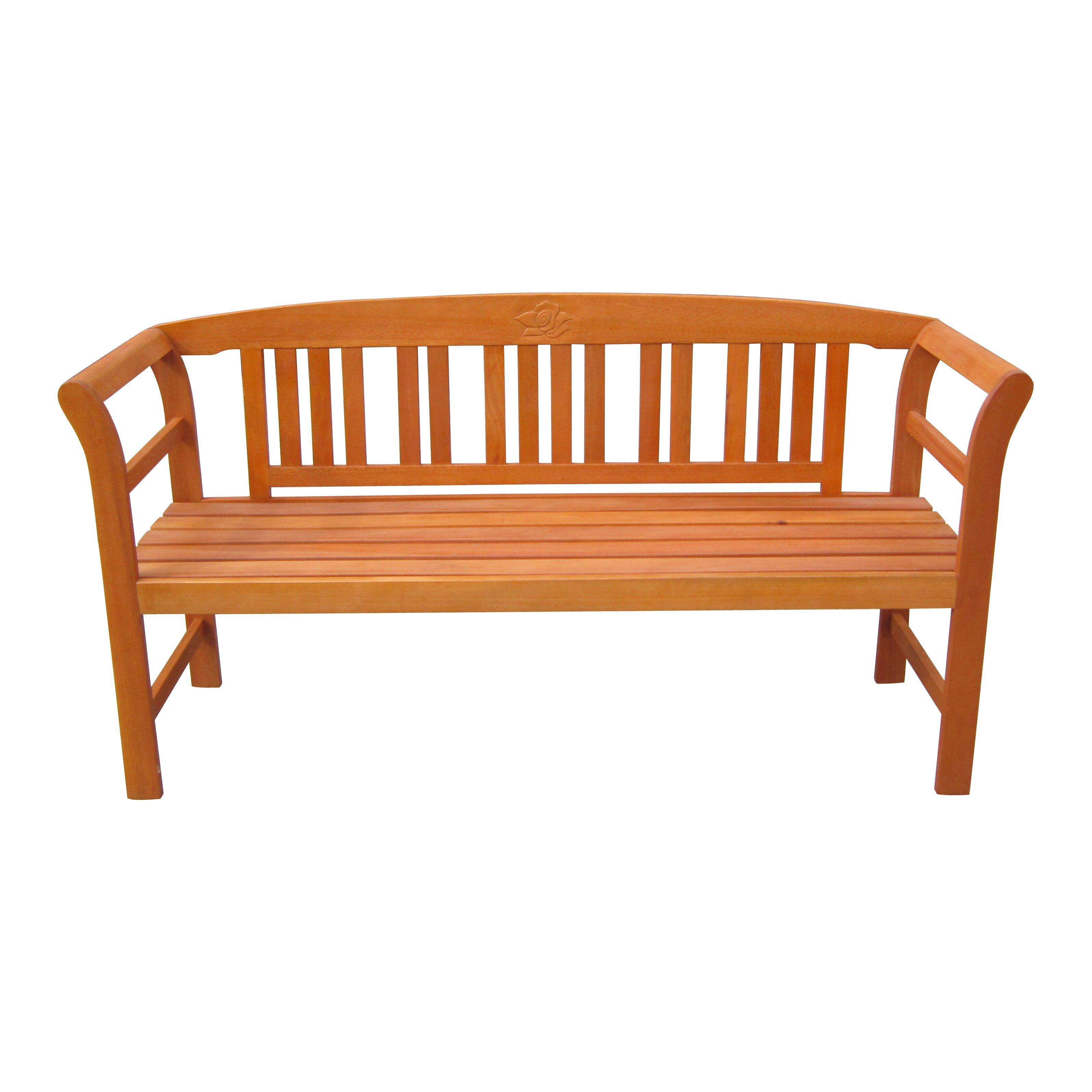 garten living 3 sitzer gartenbank harland aus eukalyptus grandis fsc bewertungen. Black Bedroom Furniture Sets. Home Design Ideas