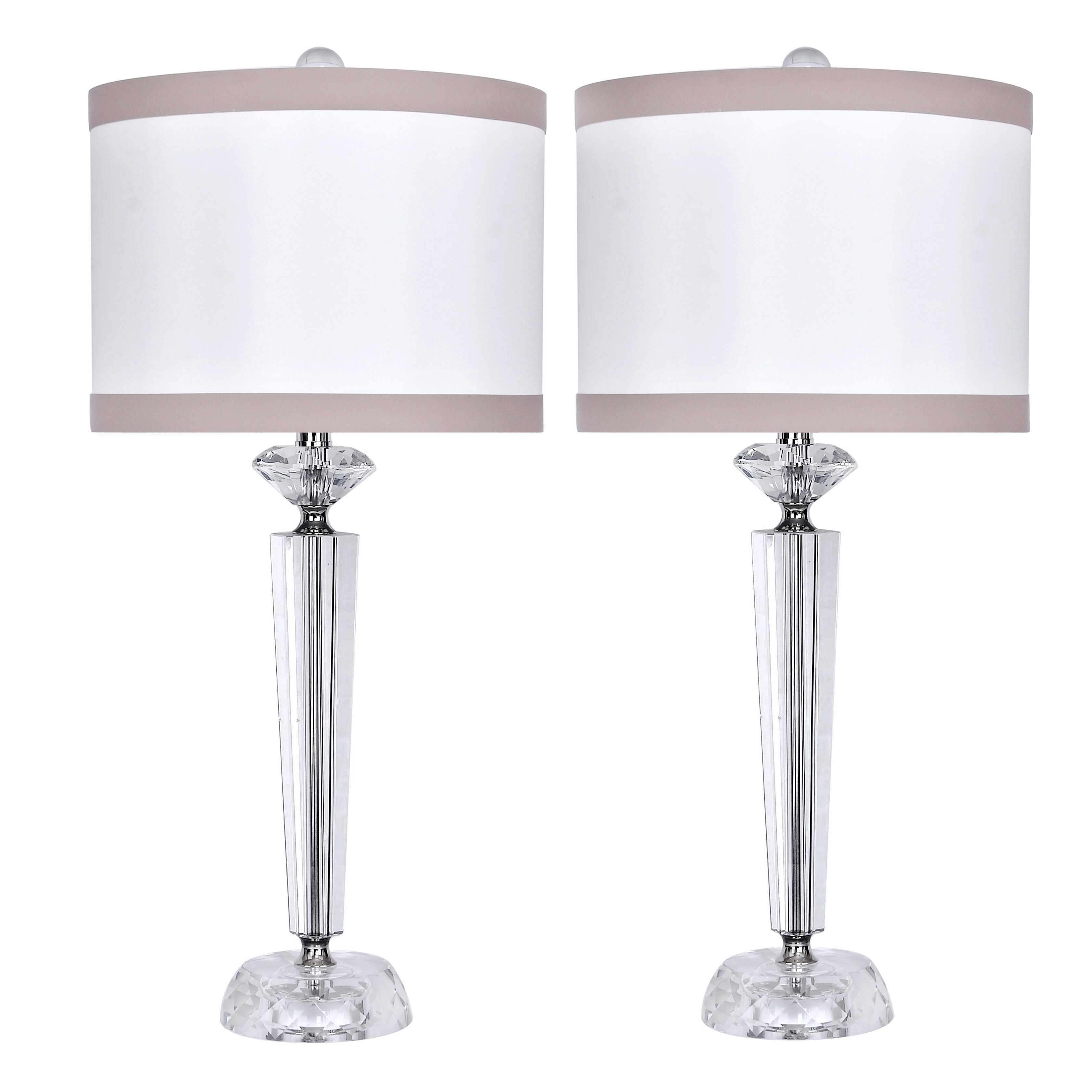 Crystal Table Lamp Sets ~ Best Inspiration for Table Lamp