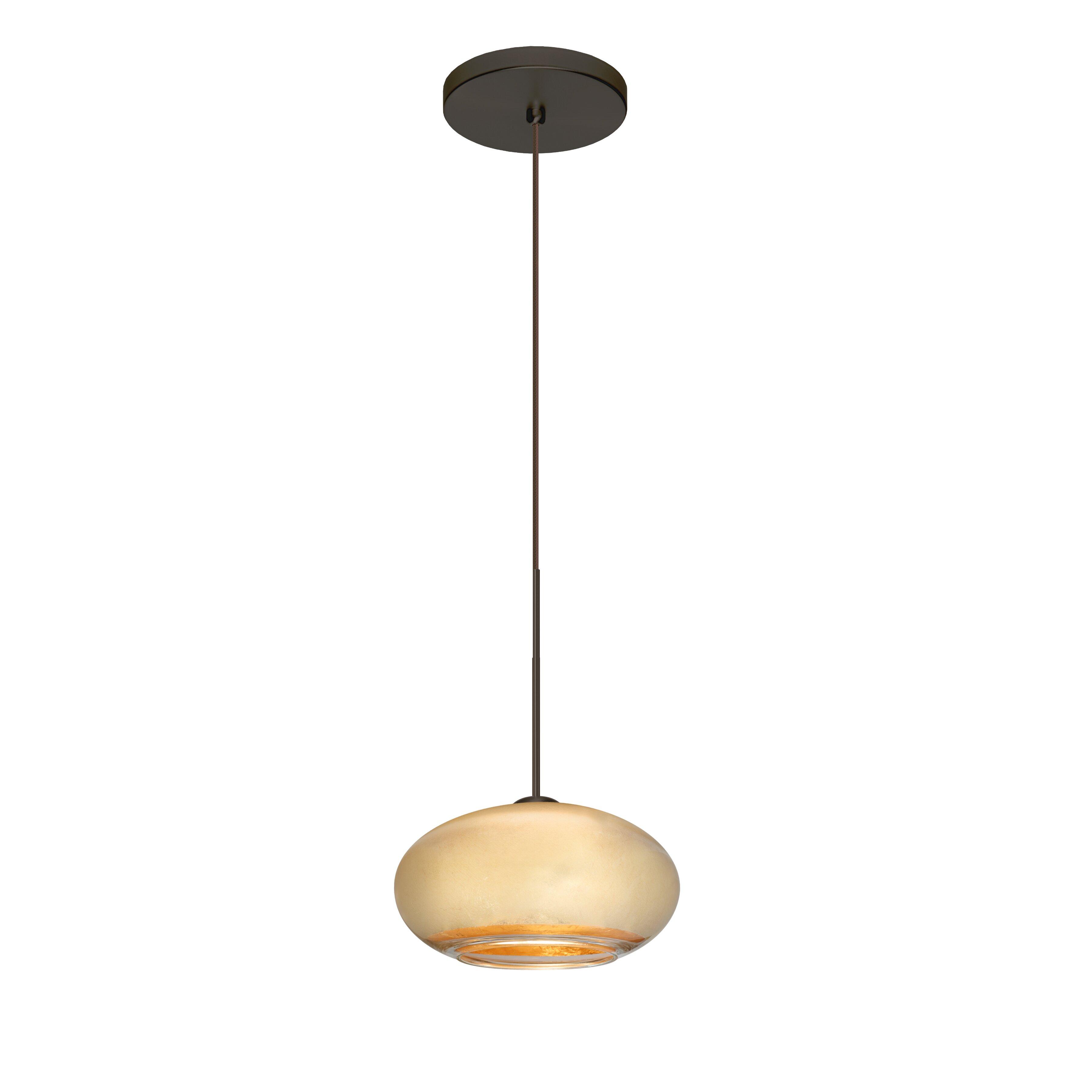 Besa Lighting Brio 1 Light Globe Pendant | Wayfair
