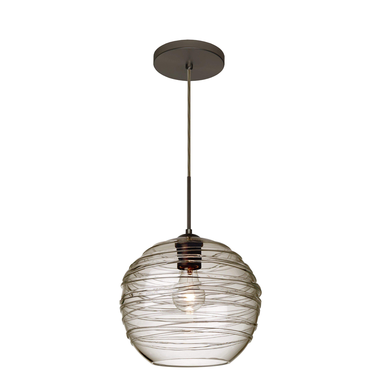 Besa Lighting Wave 1 Light Globe Pendant Amp Reviews