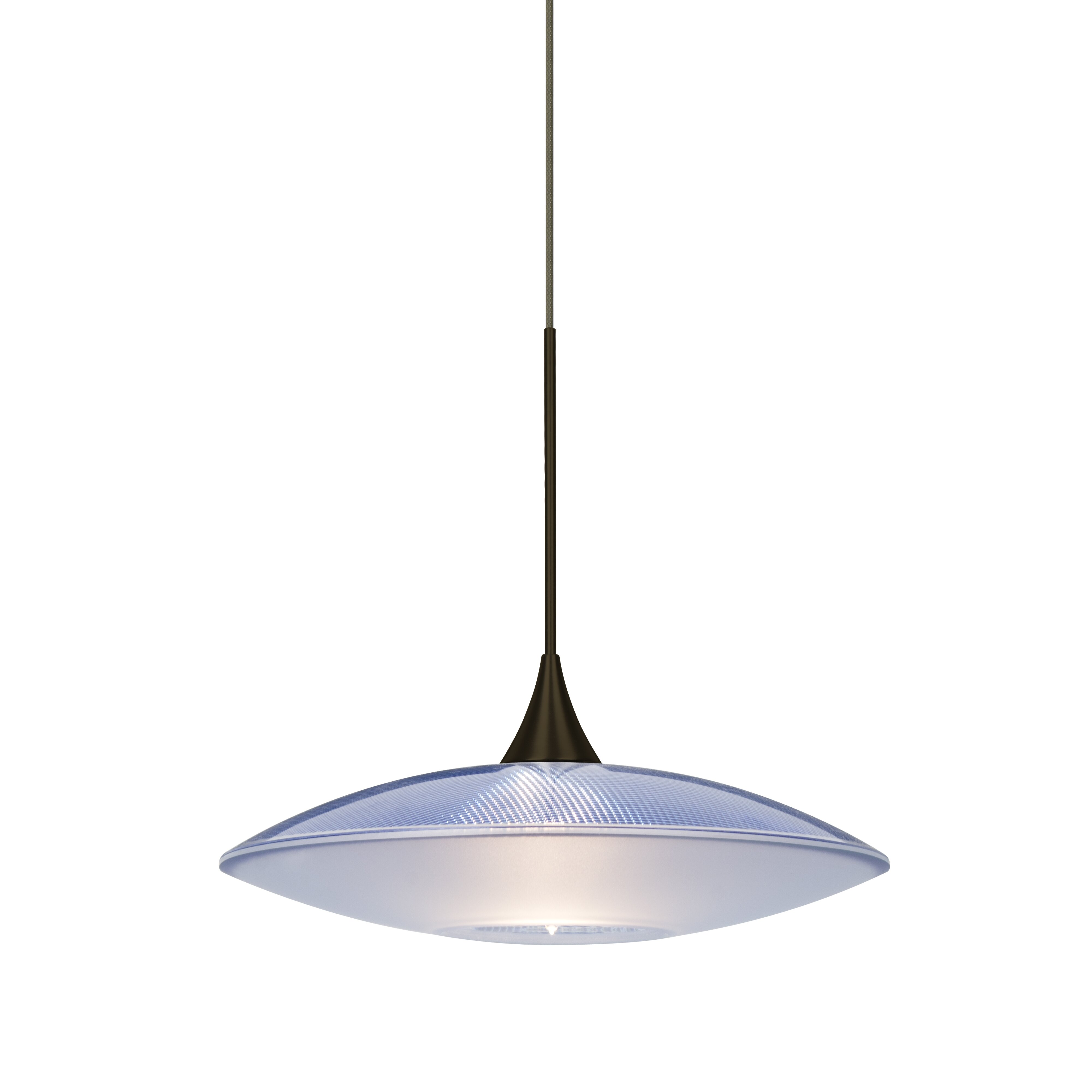 Besa Lighting Spazio 1 Light Cord Pendant