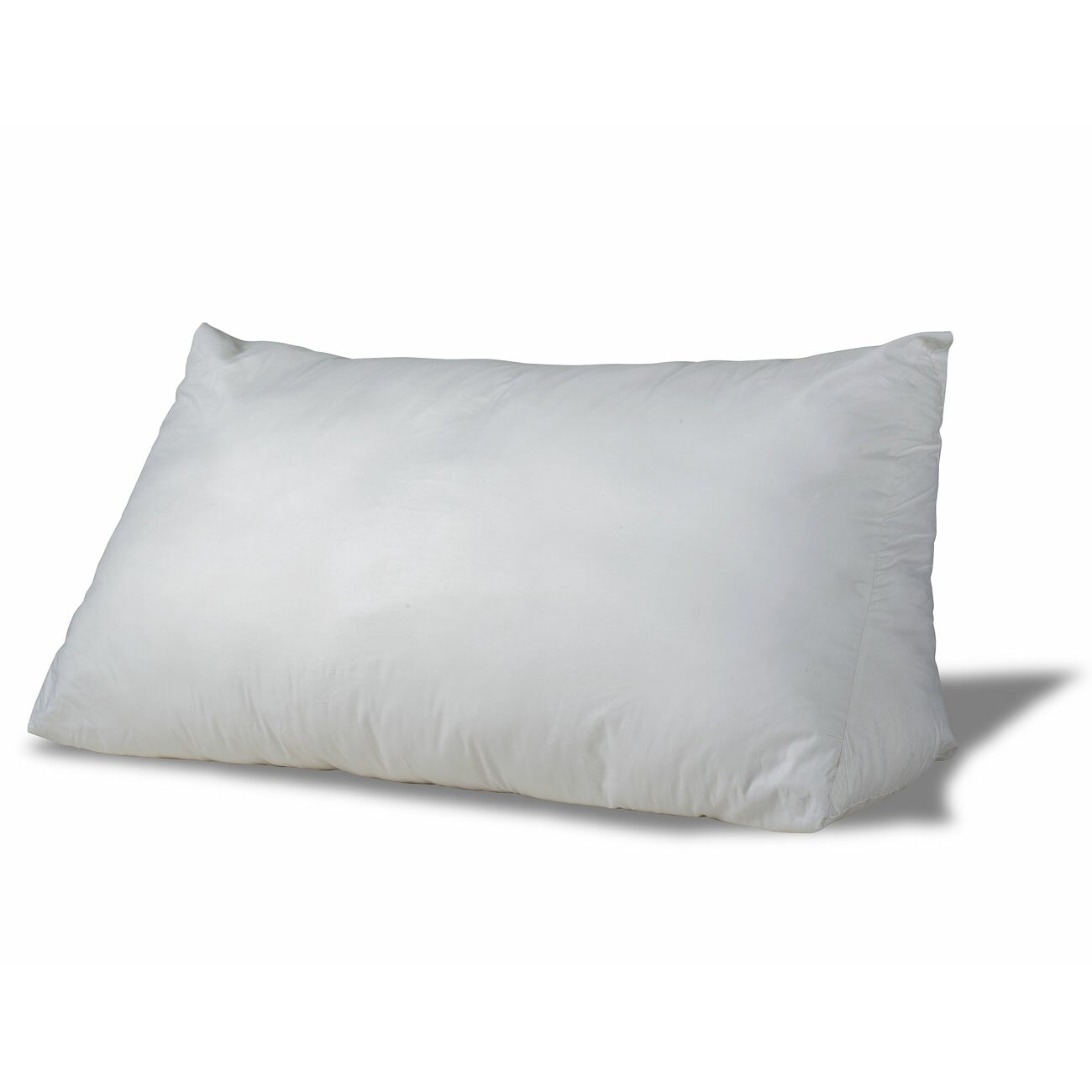 eLuxurySupply Fill Reading Wedge Feathers King Pillow