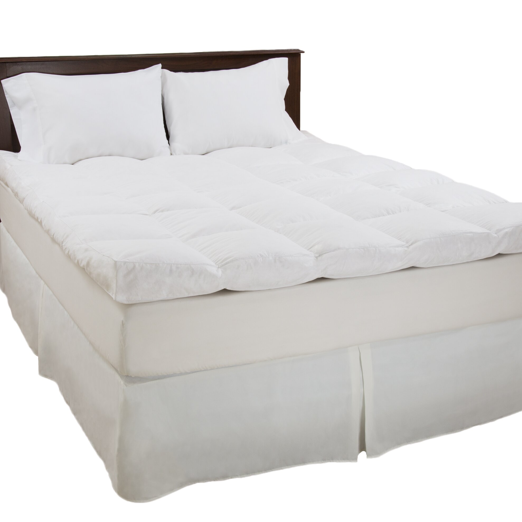 "PLYH 4"" Down & Duck Feather Mattress Topper"