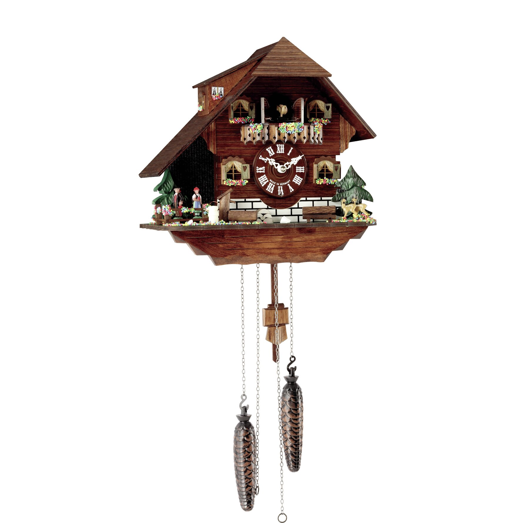 Hermle Clocks Cuckoo Clock u0026 Reviews : Wayfair