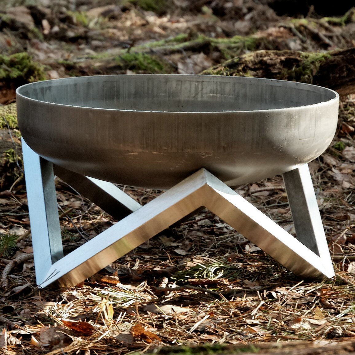how to build a wood burning fire pit