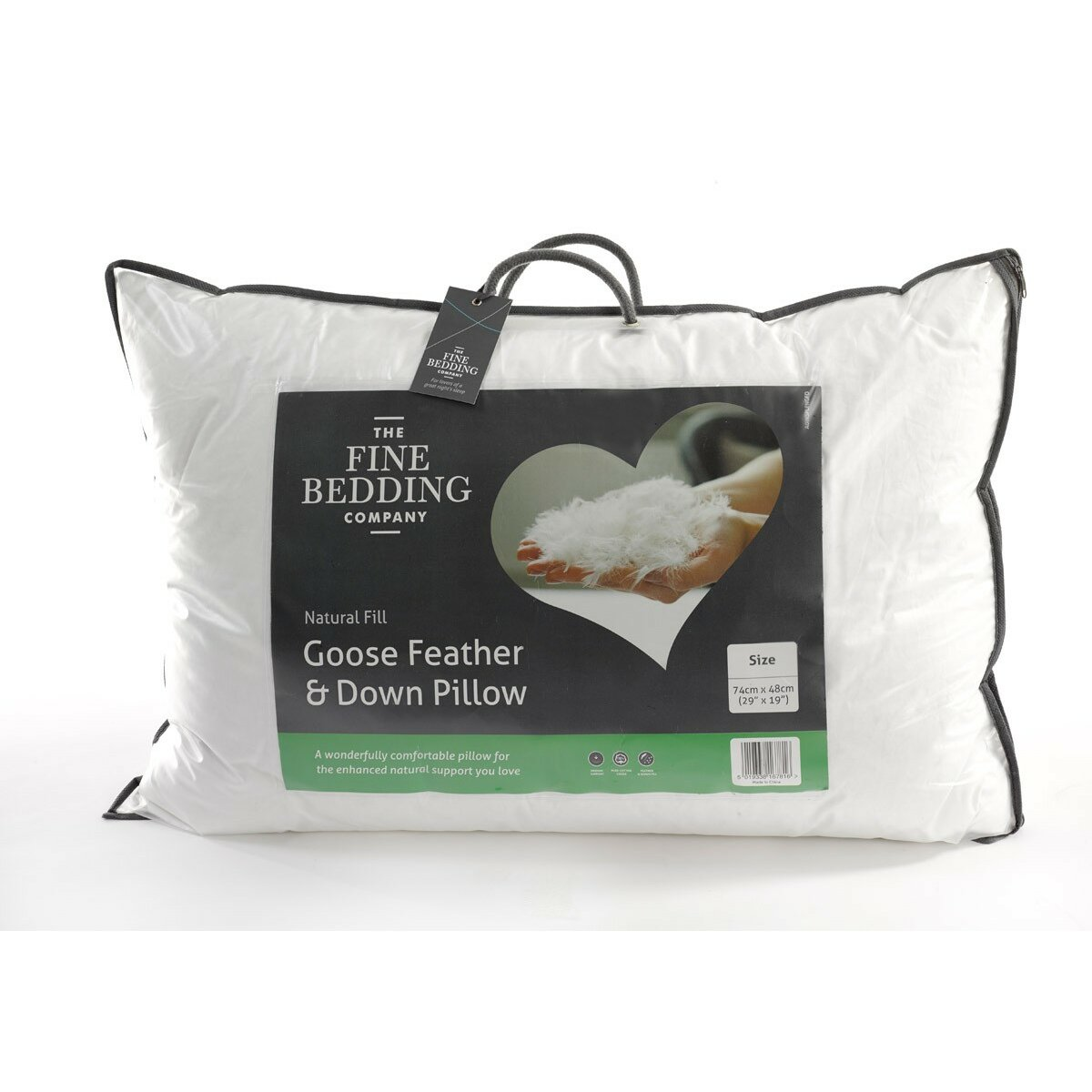 Kings Amp Queens Goose Feather And Down Pillow Wayfair Uk