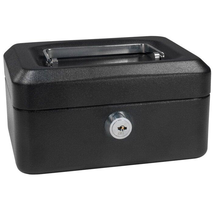 Barska Extra Small Black Cash Box with Key Lock & Reviews | Wayfair