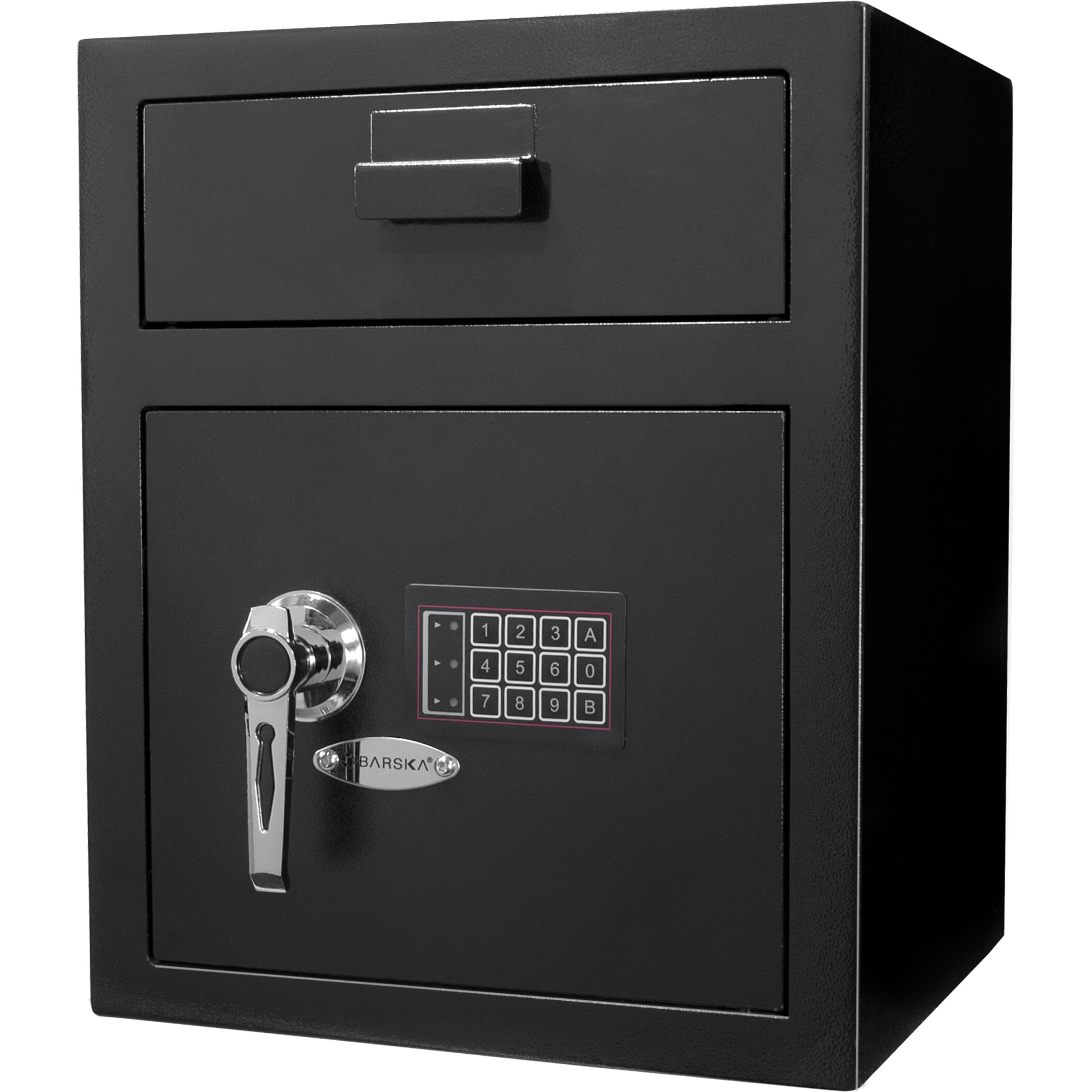 barska keypad lock large depository safe reviews wayfair. Black Bedroom Furniture Sets. Home Design Ideas