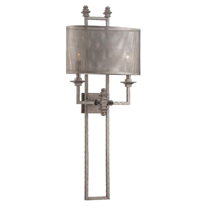 Savoy House Structure 2 Light Wall Sconce & Reviews