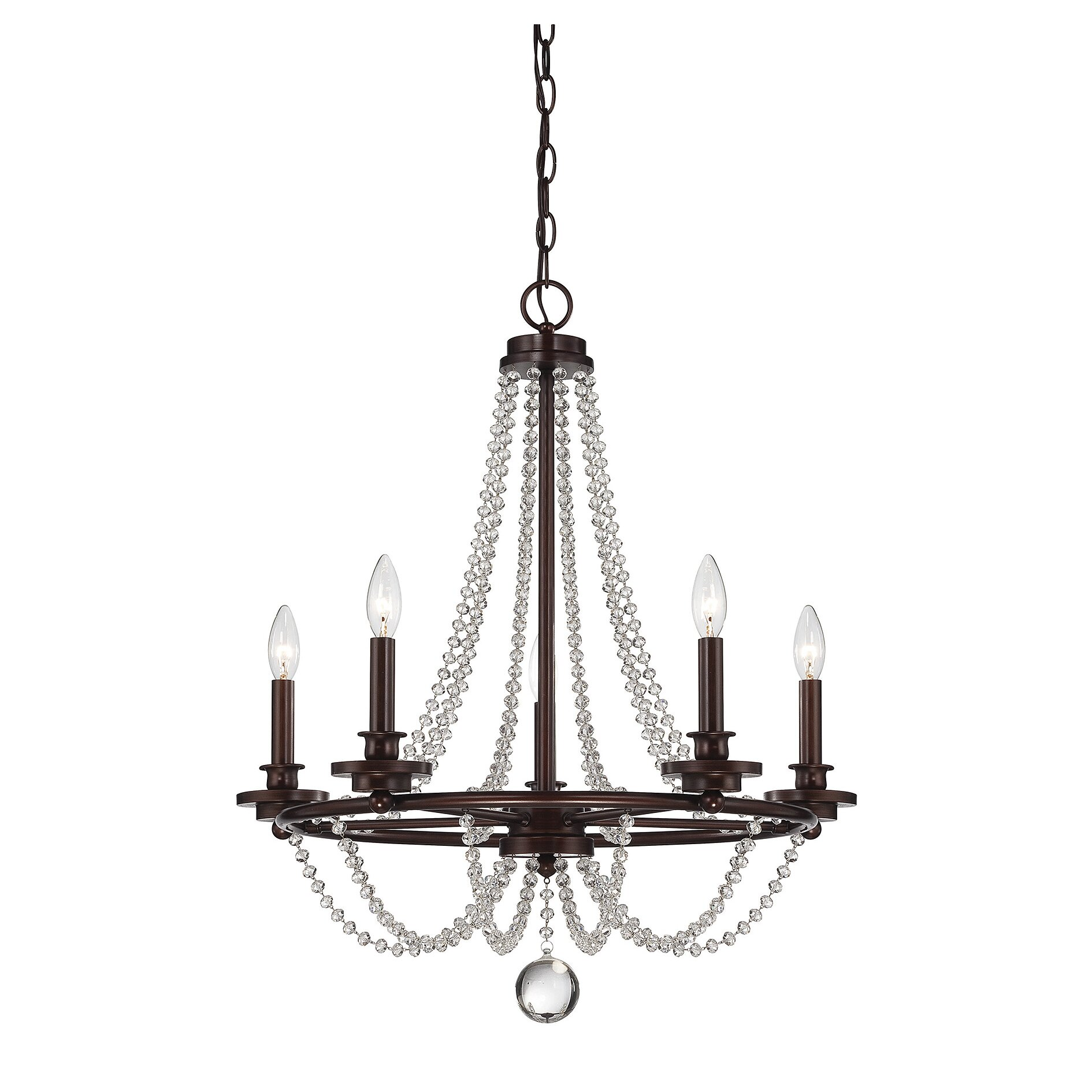 Savoy House Byanca 5 Light Candle Chandelier Reviews