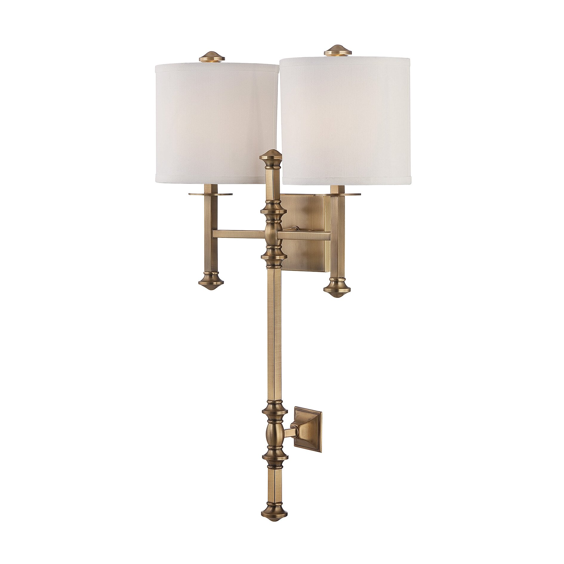 Wall Sconces 2 Lights : Savoy House Devon 2 Light Wall Sconce & Reviews Wayfair
