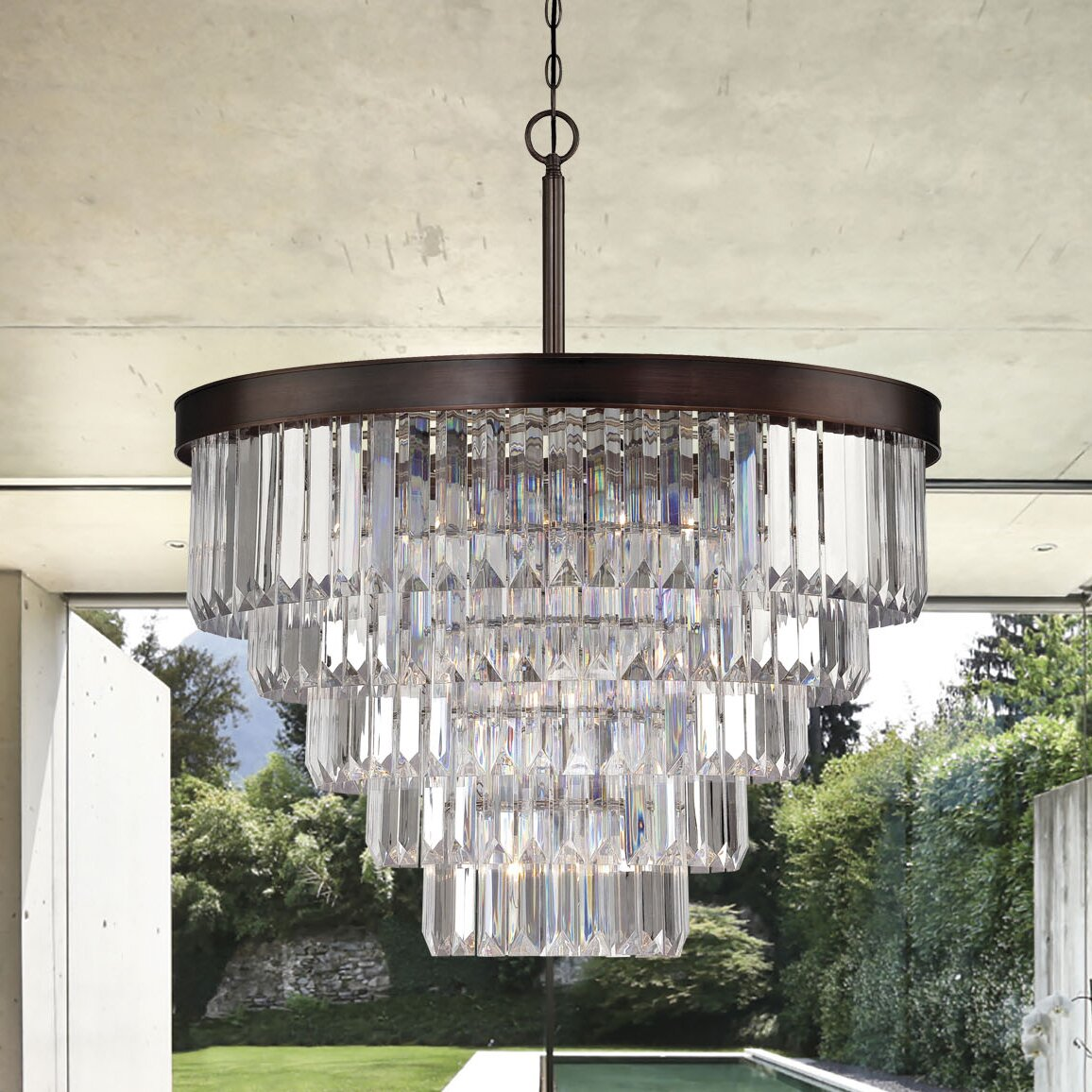 Savoy house tierney 9 light crystal chandelier reviews for Savoy house