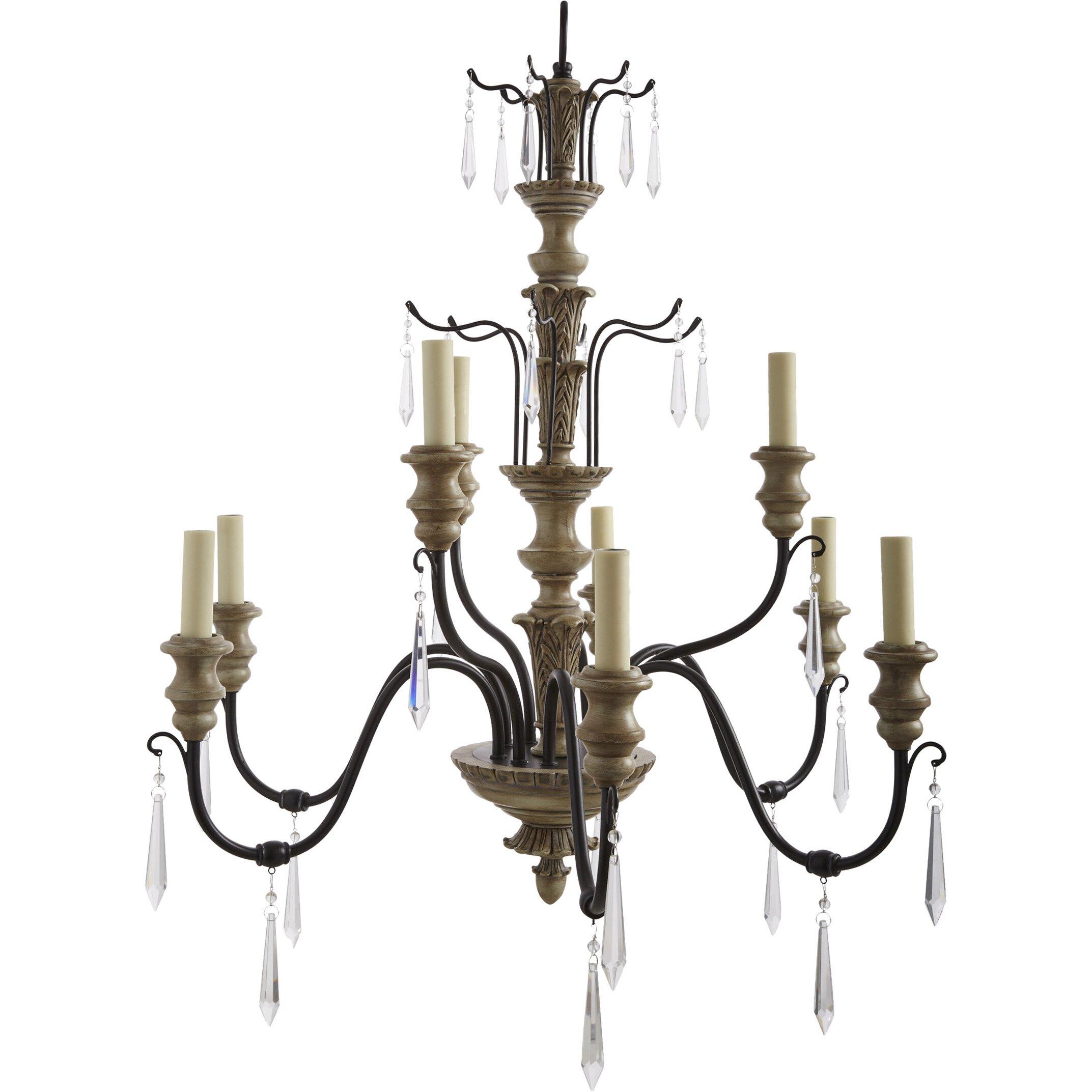Savoy house madeliane 9 light chandelier reviews wayfair for Www savoyhouse com