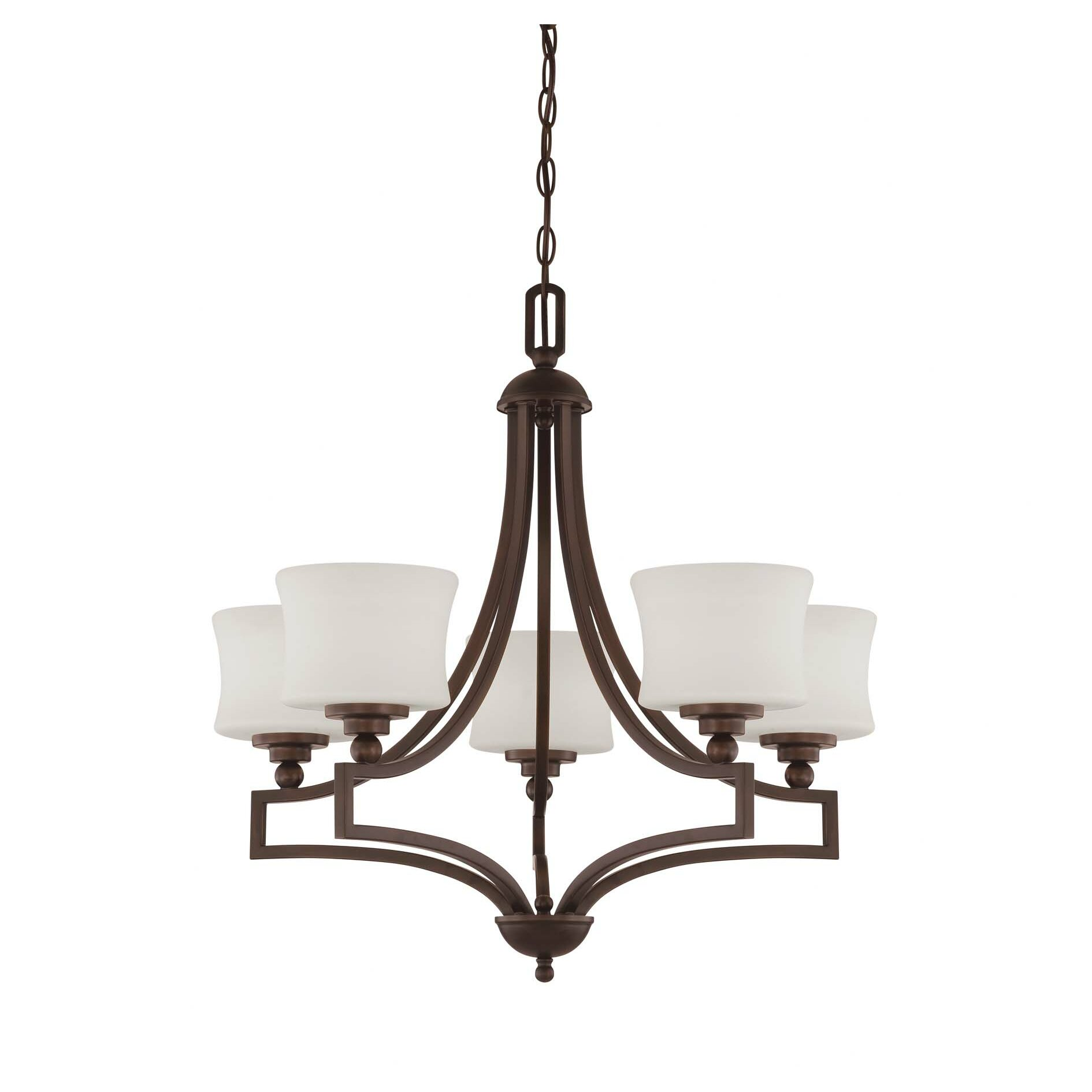 Savoy house terrell 5 light chandelier wayfair for Savoy house