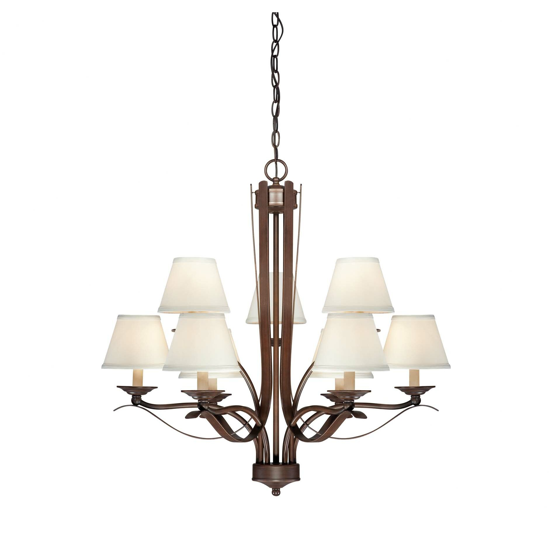 Savoy house maremma 9 light chandelier wayfair for Www savoyhouse com