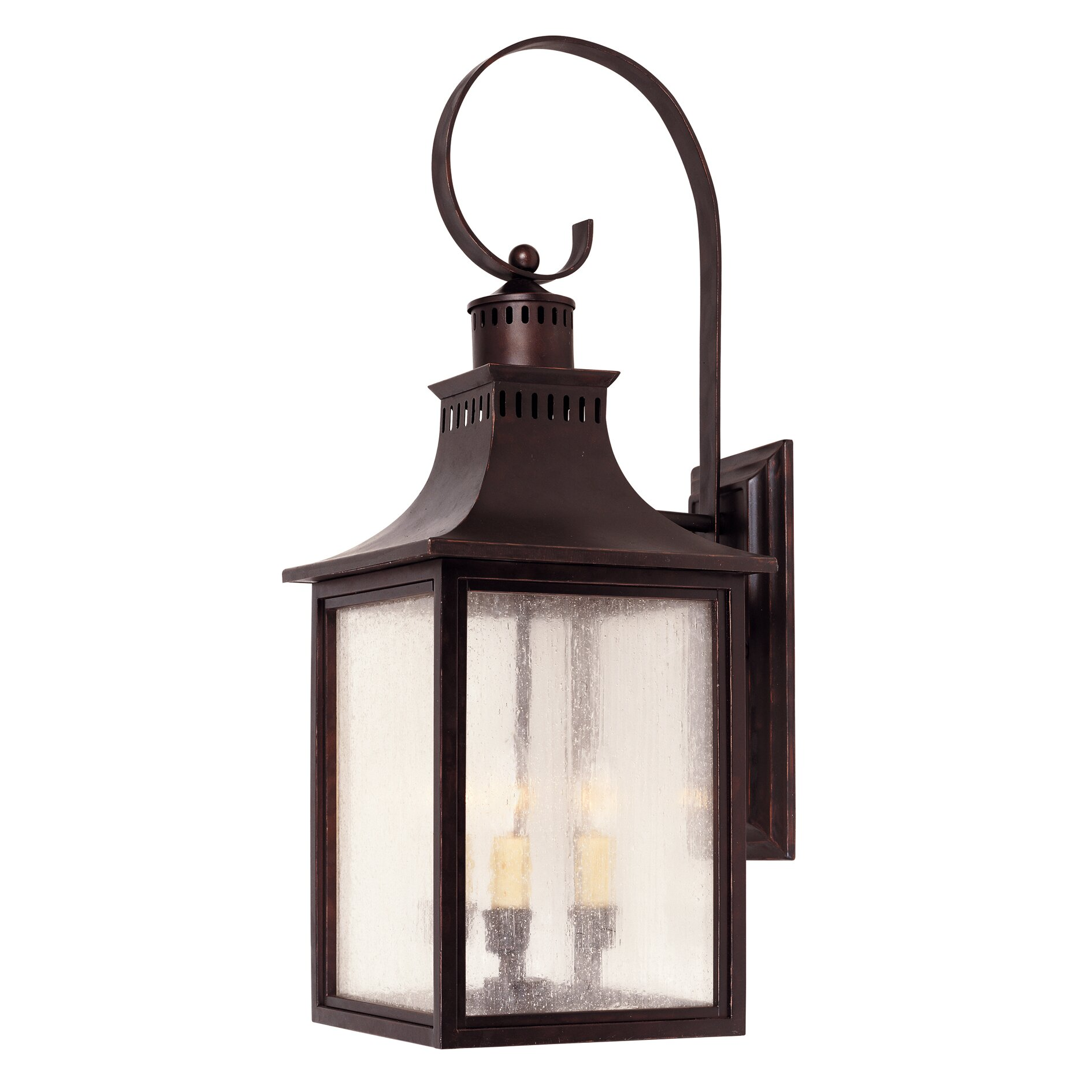 Wall Lantern External : Savoy House Monte Grande 3 Light Outdoor Wall Lantern & Reviews Wayfair