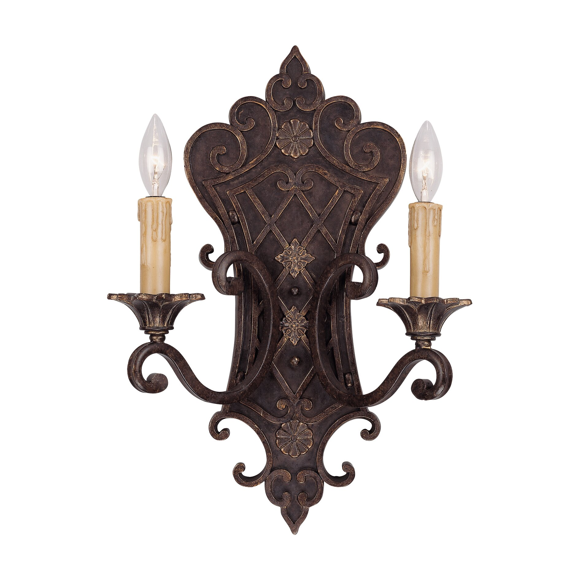 Savoy House Southerby 2 Light Wall Sconce Reviews Wayfair