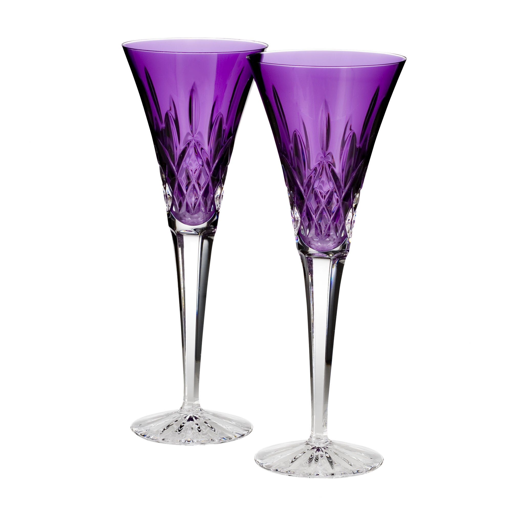 Waterford lismore toasting flute glass wayfair - Fluted wine glasses ...