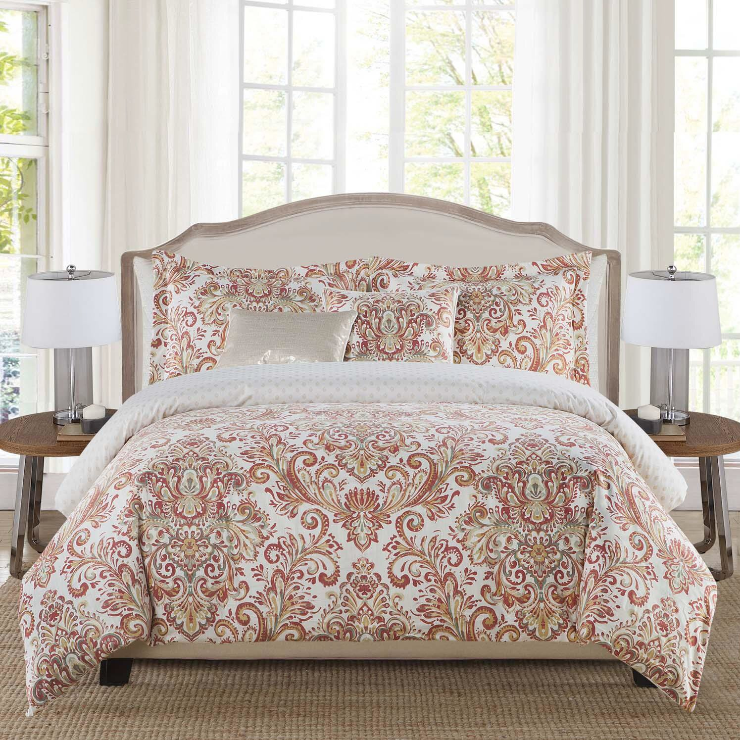 Envogue Mika 5 Piece Reversible Comforter Set Wayfair