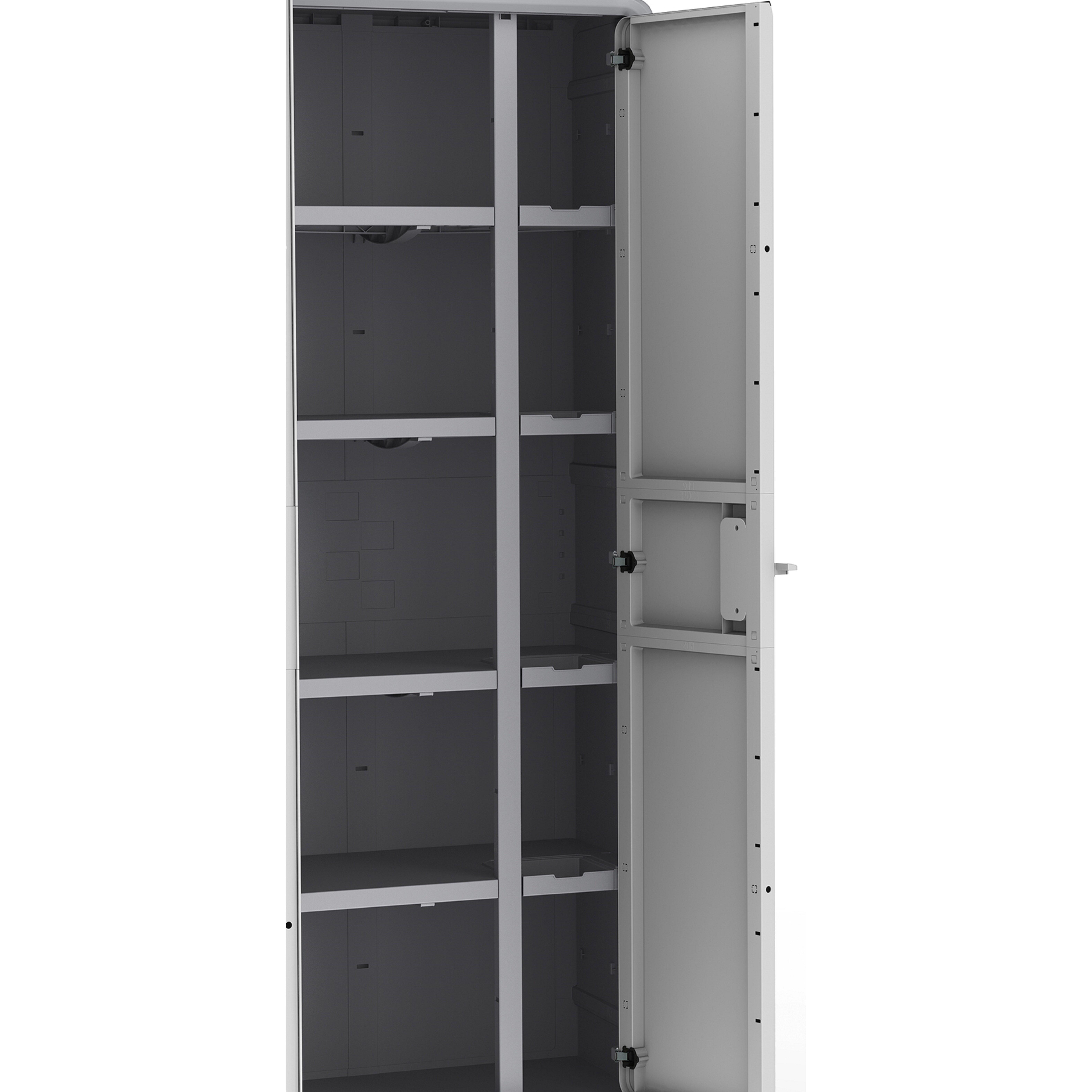 Plastic Storage Cabinets. Akromils Plastic Storage Cabinet ...