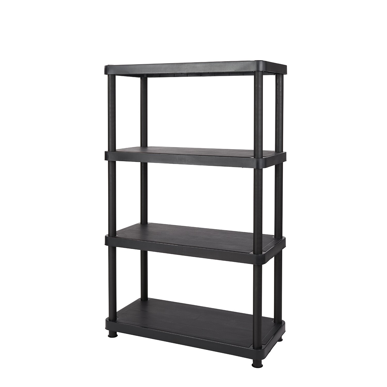 Keter Freestanding Plastic Storage 54 5 Quot H Four Shelf