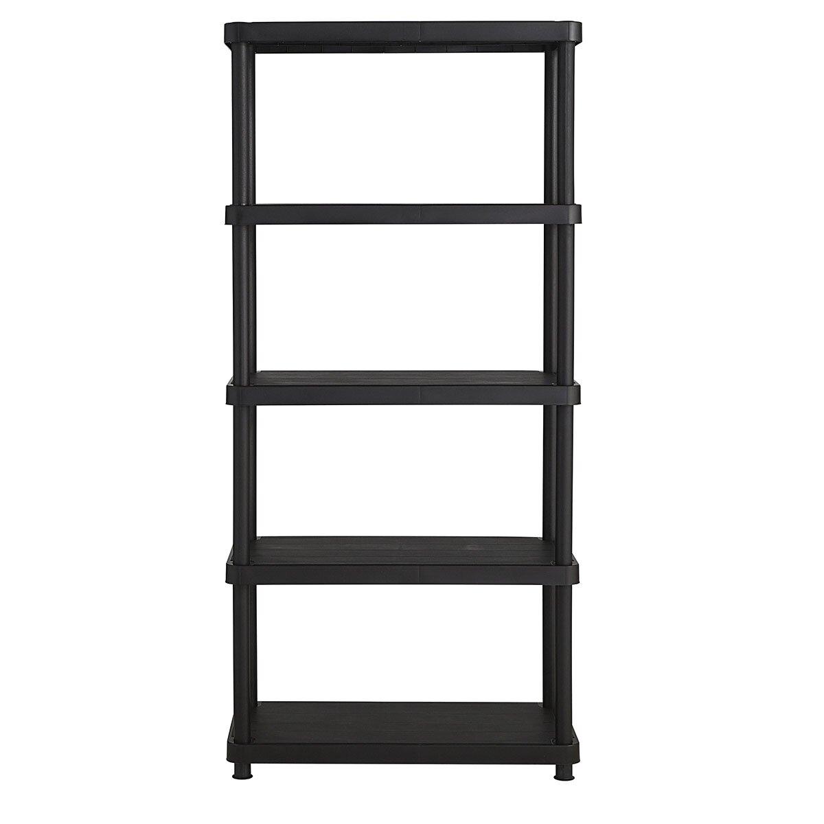Keter Freestanding Plastic Storage 72 Quot H Five Shelf